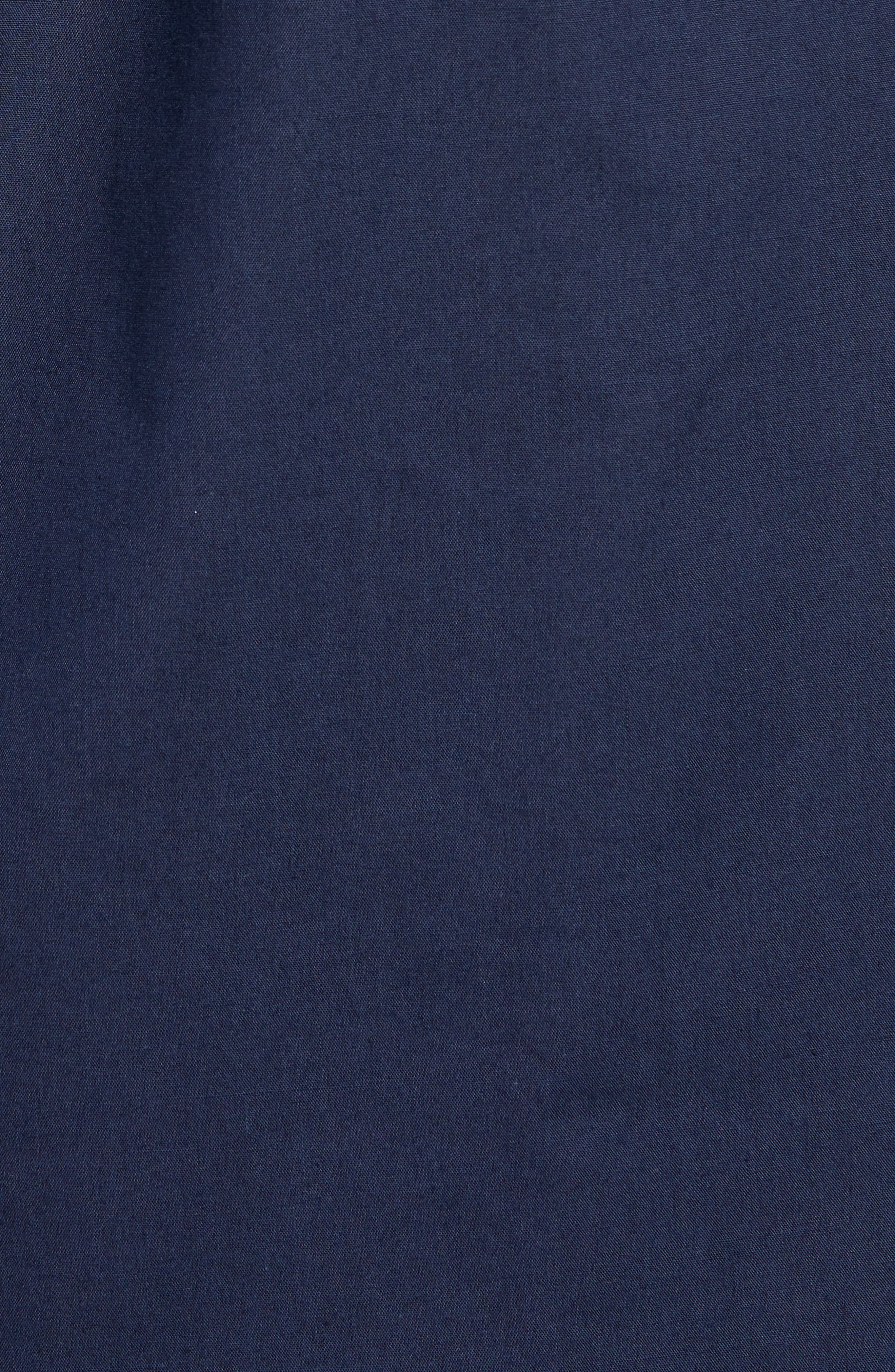 Howl Woven Shirt,                             Alternate thumbnail 5, color,                             NAVY