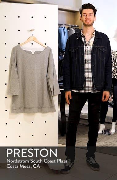 Split Sleeve Sweatshirt, sales video thumbnail