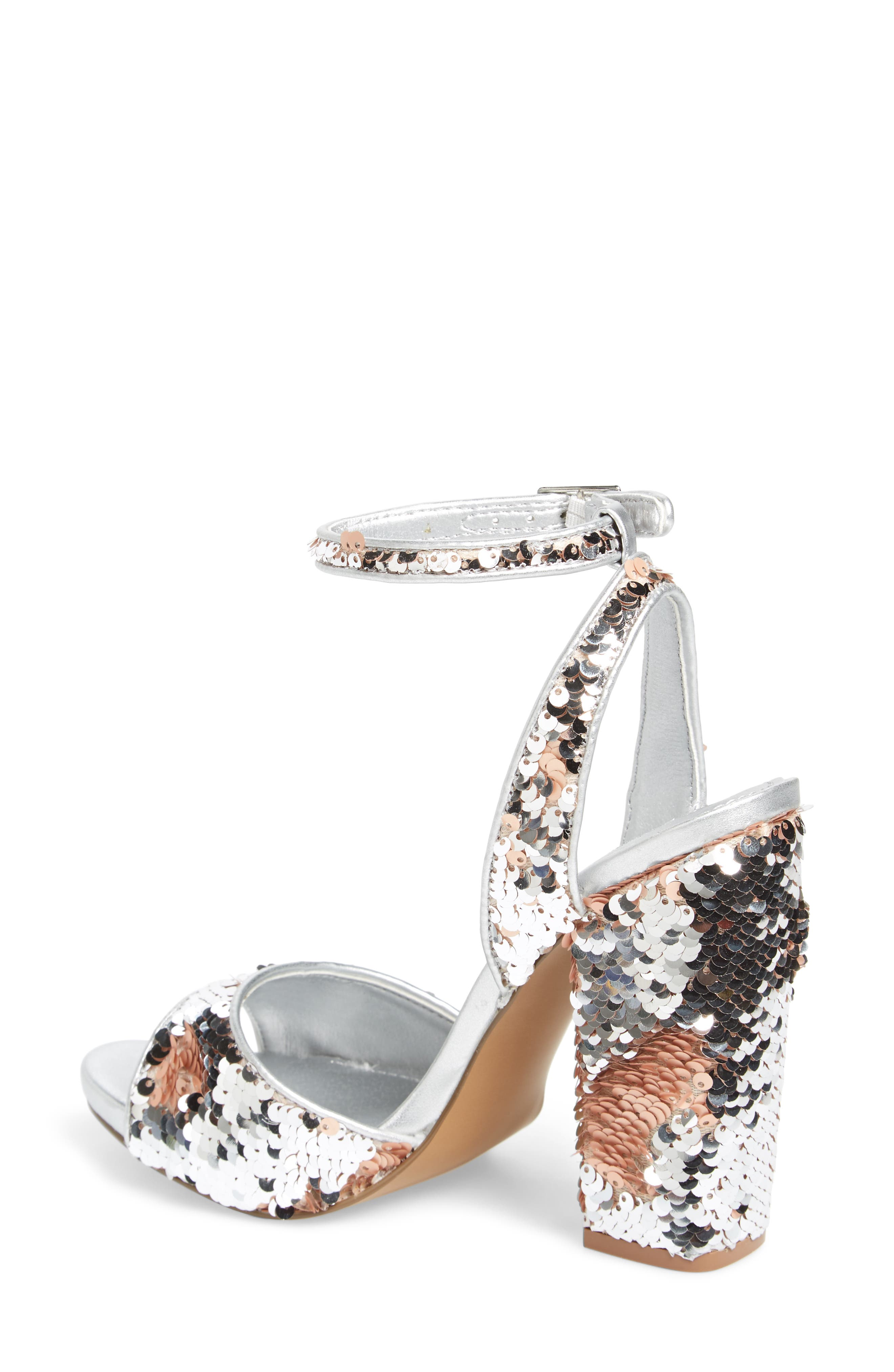 Ritzy Flip Sequin Sandal,                             Alternate thumbnail 2, color,                             040