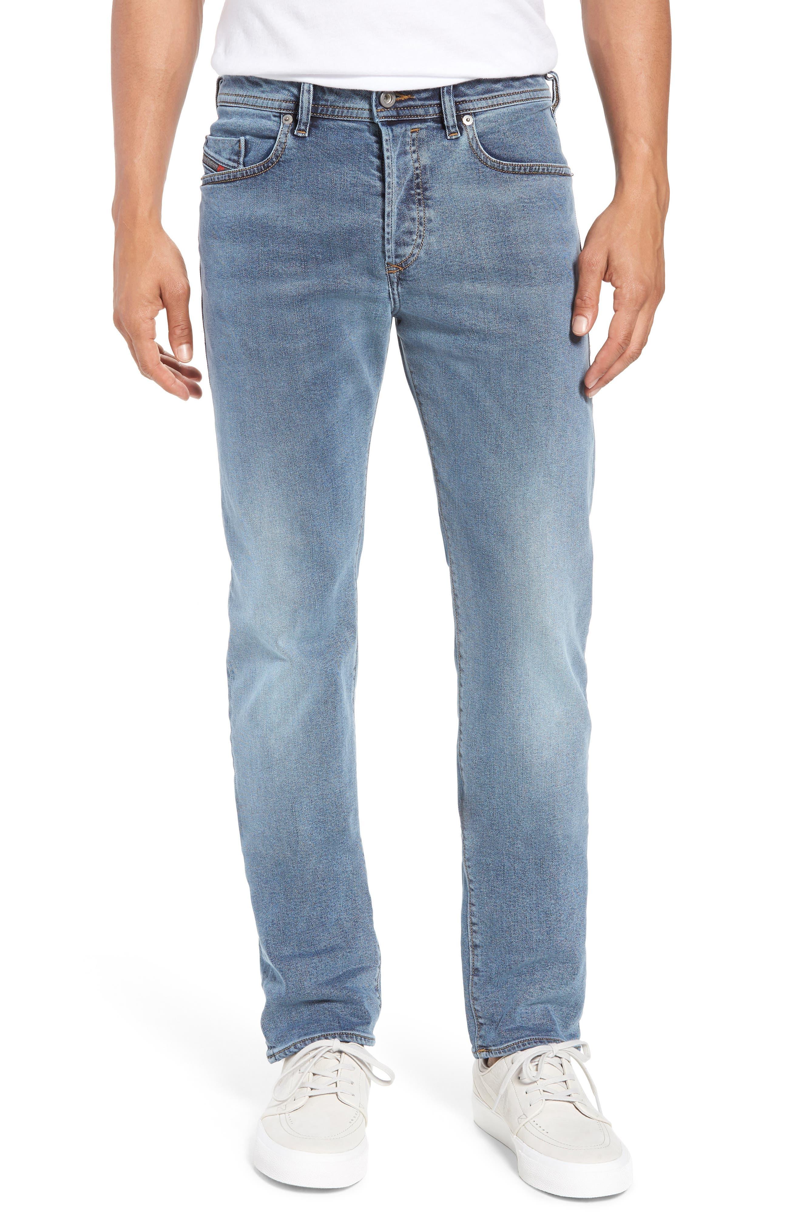 Buster Slim Straight Leg Jeans,                             Main thumbnail 1, color,                             084SJ