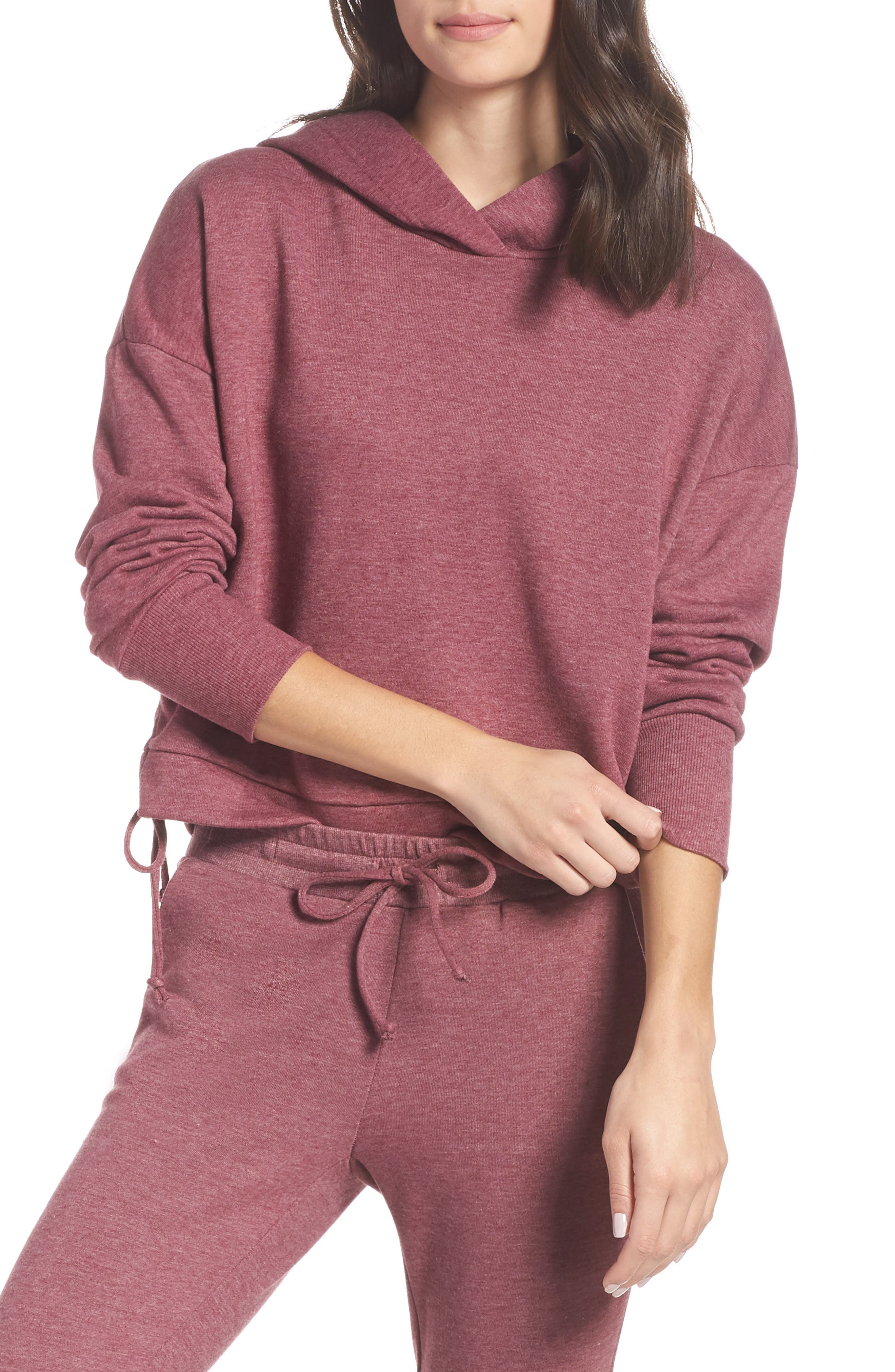 Whip It Hoodie,                         Main,                         color, MULBERRY HEATHER