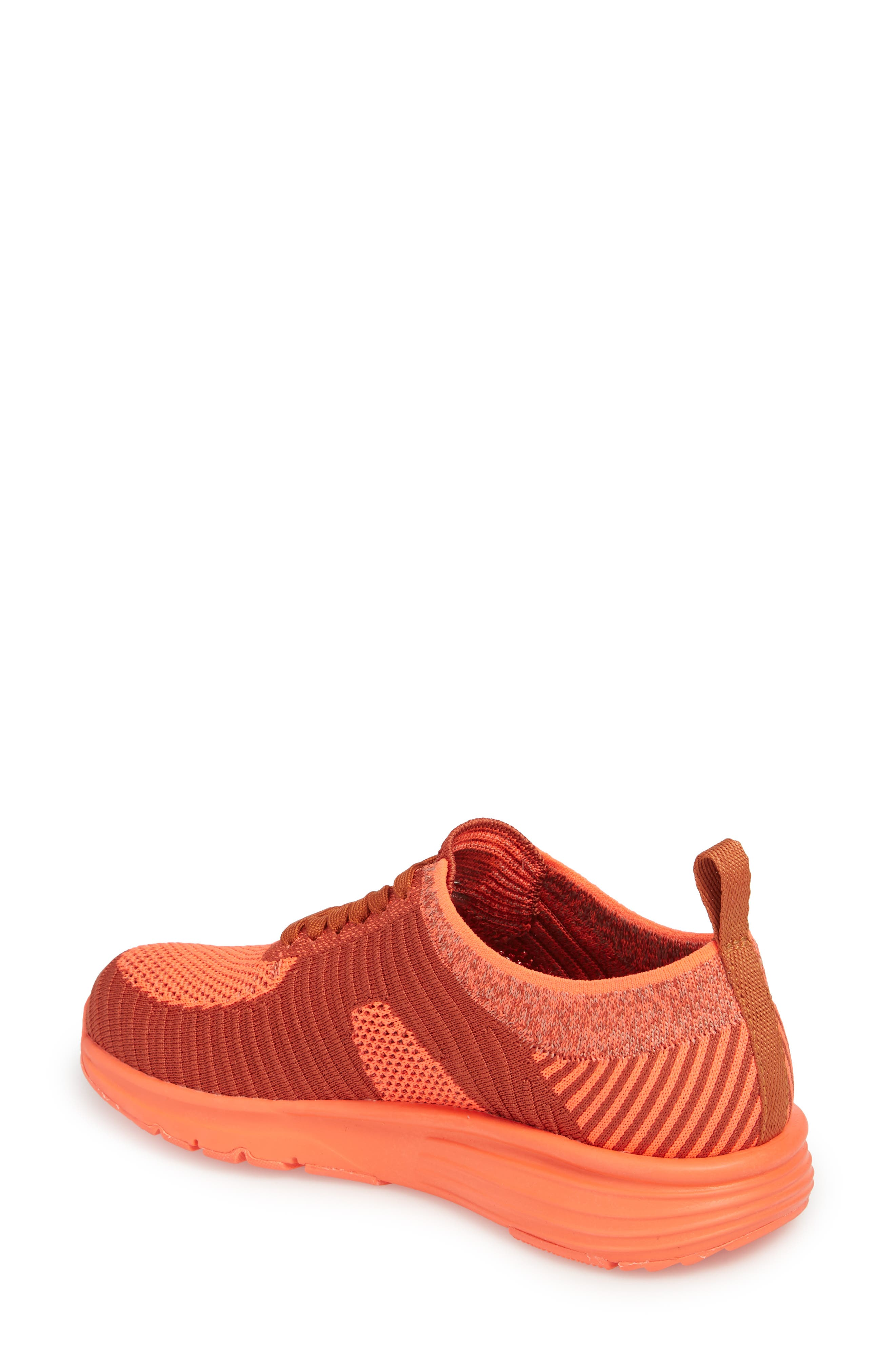 Drift Knit Sneaker,                             Alternate thumbnail 2, color,                             RED - ASSORTED FABRIC
