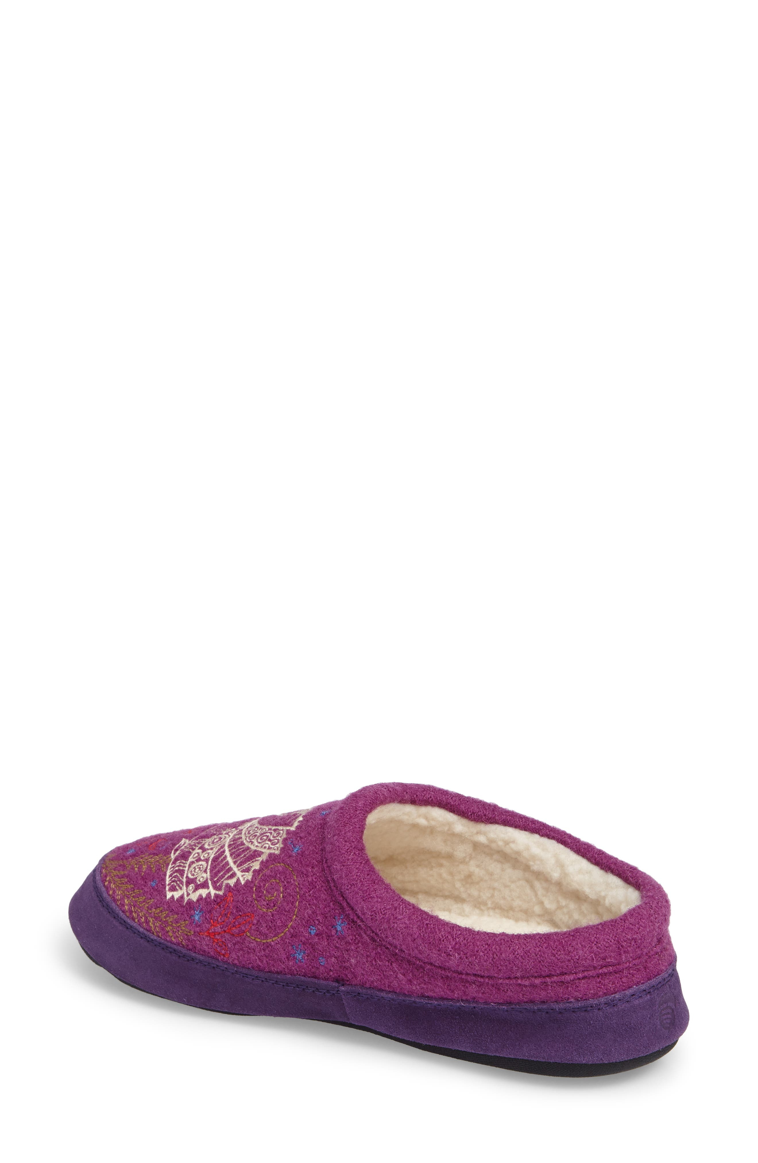 'Forest' Wool Mule Slipper,                             Alternate thumbnail 2, color,                             500