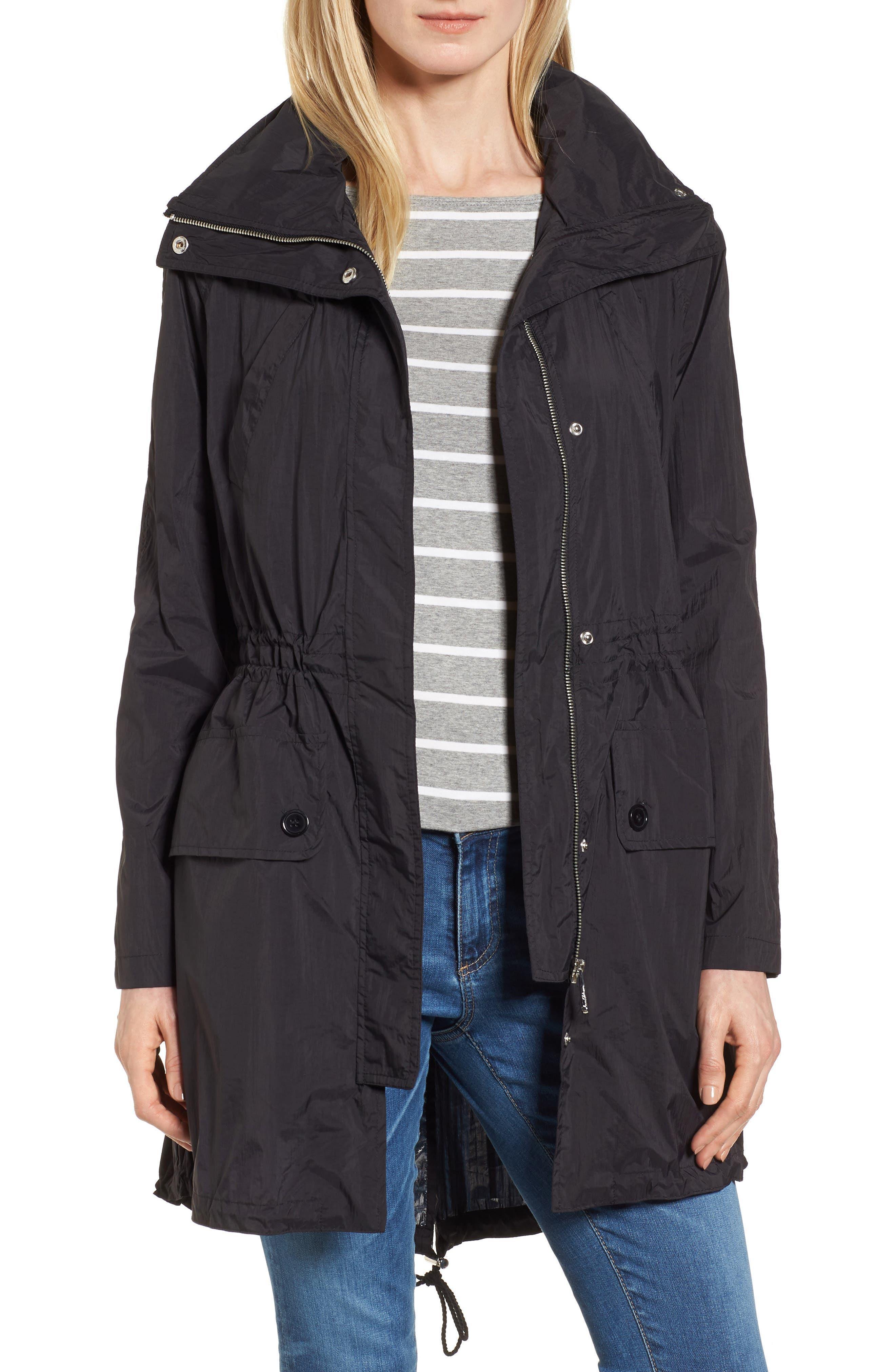 Crinkle Anorak Jacket,                         Main,                         color, 001