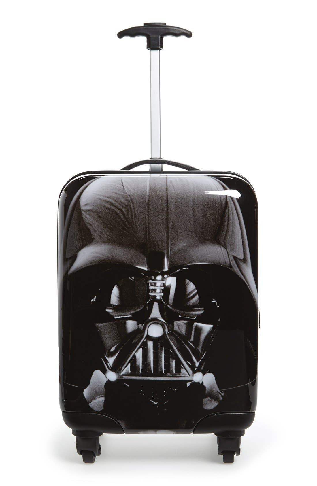 'Star Wars - Darth Vader & Stormtrooper' Rolling Suitcase,                             Main thumbnail 1, color,                             001