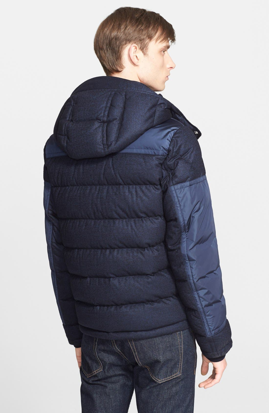 'Severac' Mixed Media Quilted Puffer,                             Alternate thumbnail 2, color,                             419