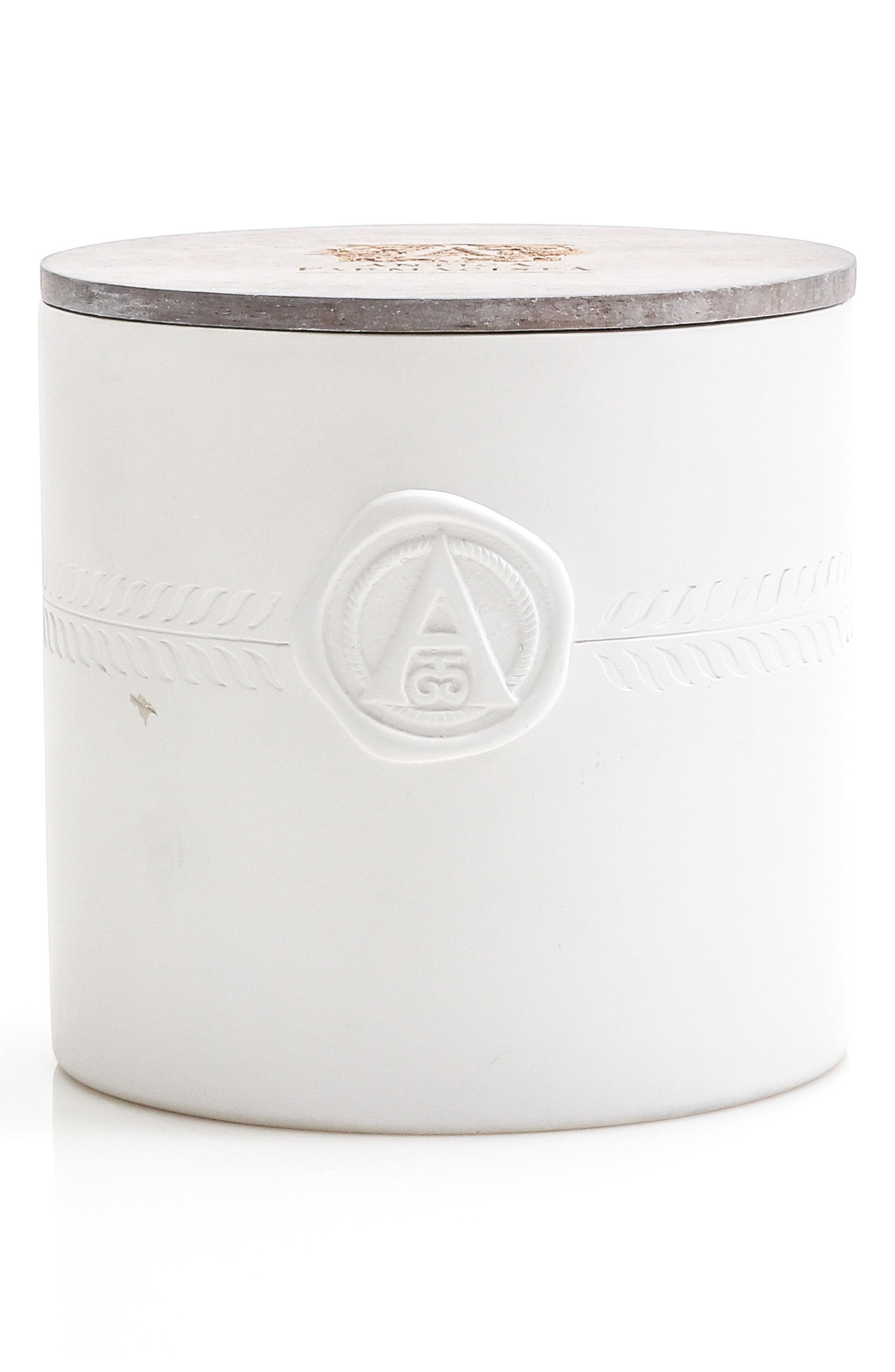 Palm Three-Wick Candle,                             Main thumbnail 1, color,                             000