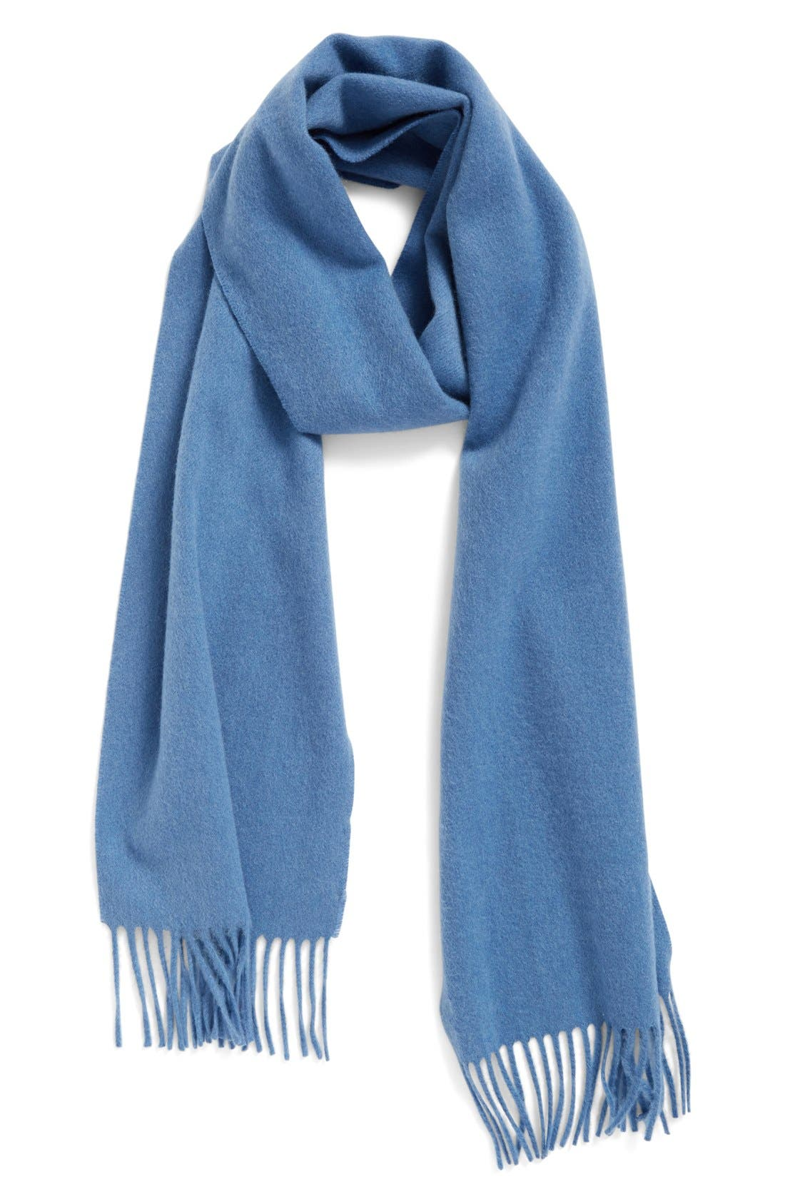 Solid Woven Cashmere Scarf,                             Main thumbnail 11, color,