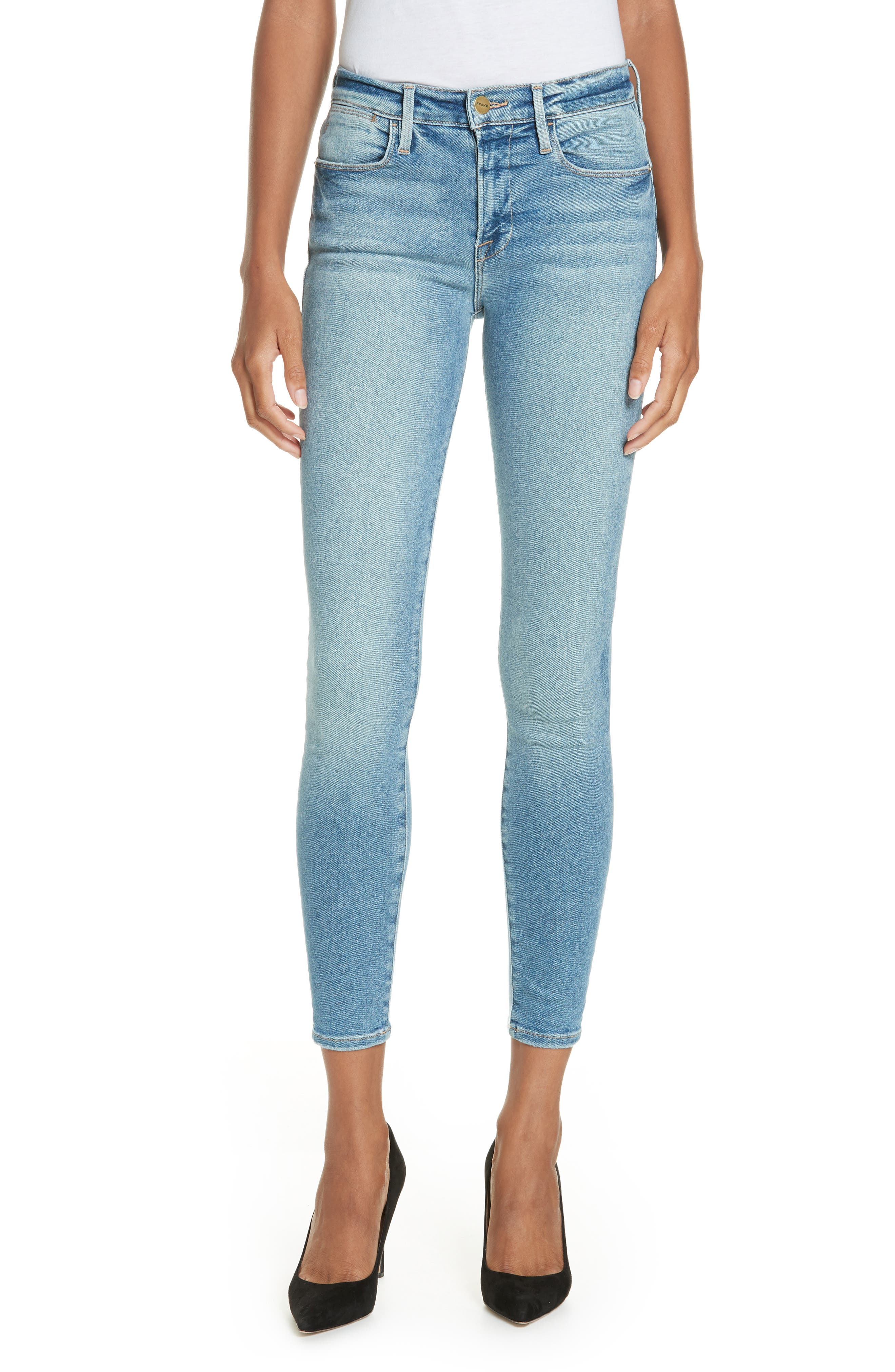 Le High Skinny Jeans,                         Main,                         color, DUPONT DRIVE