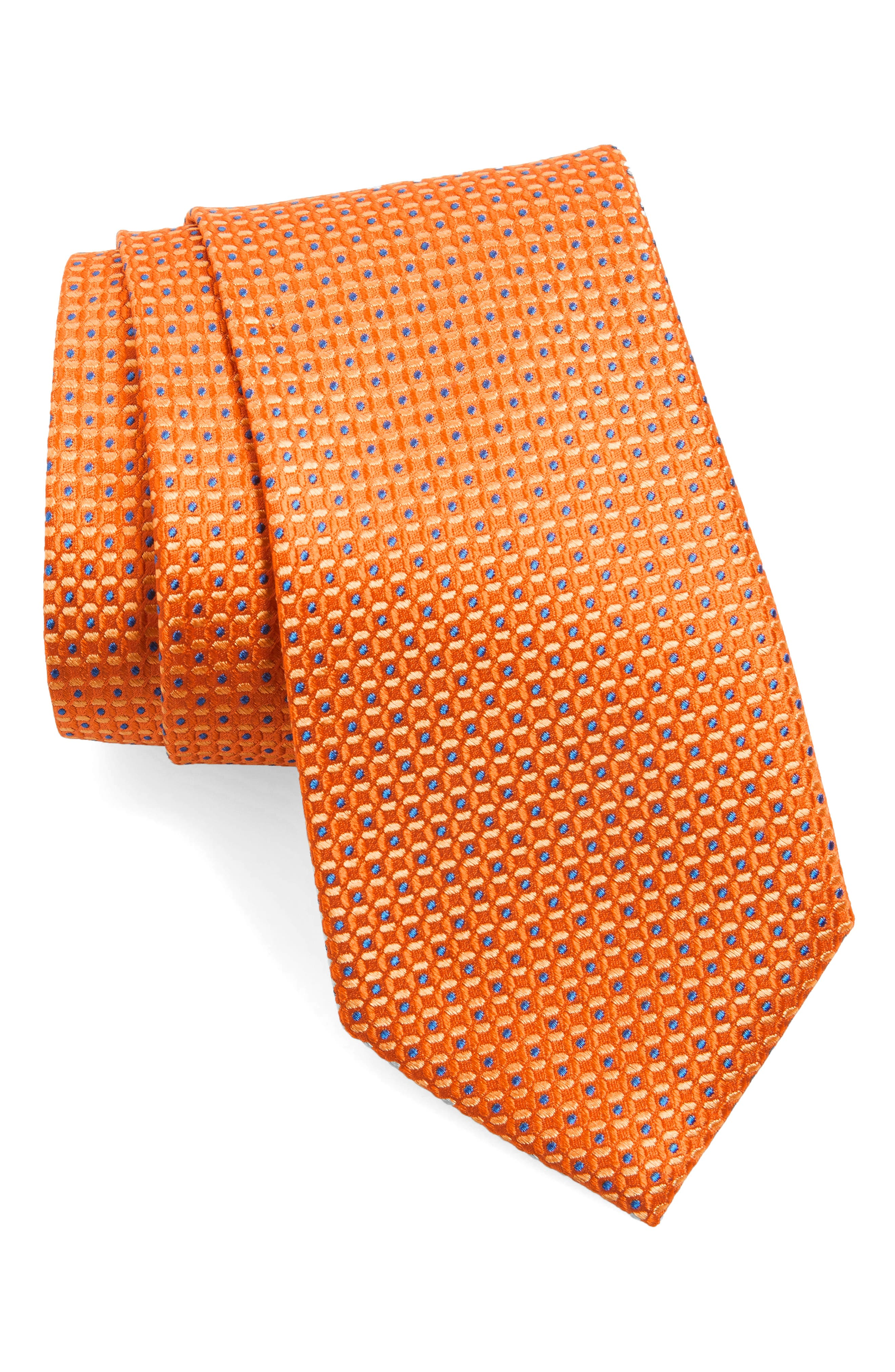 Check Silk Tie,                             Main thumbnail 7, color,