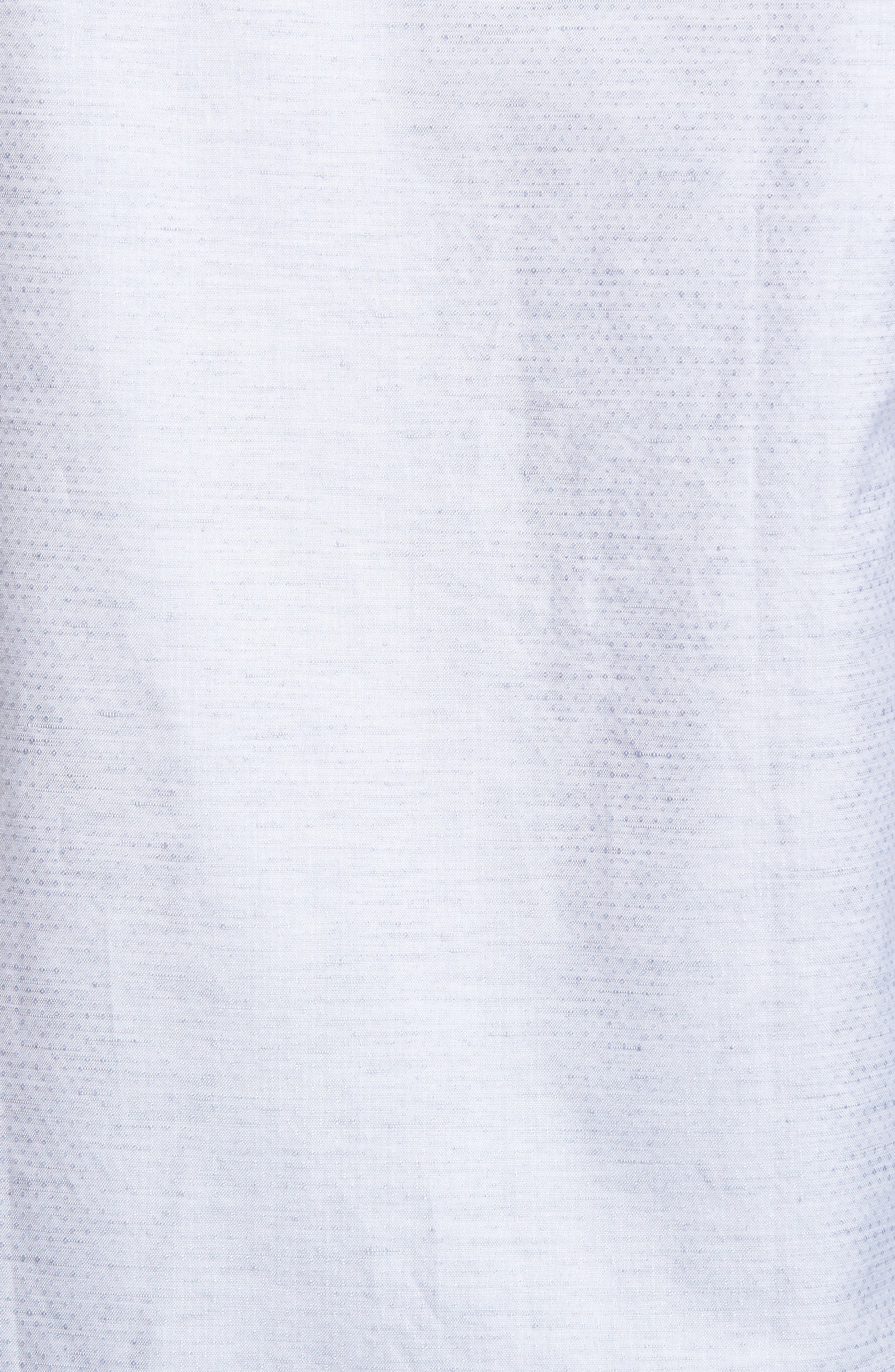 Dobby Cotton & Linen Sport Shirt,                             Alternate thumbnail 17, color,