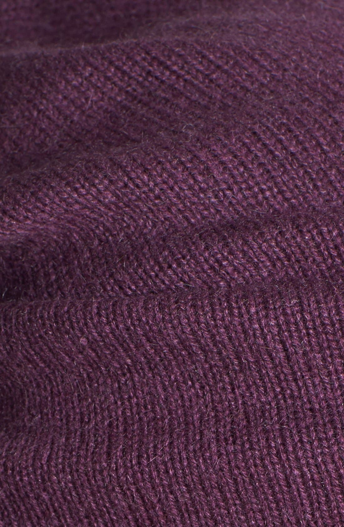 Slouchy Cashmere Beanie,                             Alternate thumbnail 37, color,
