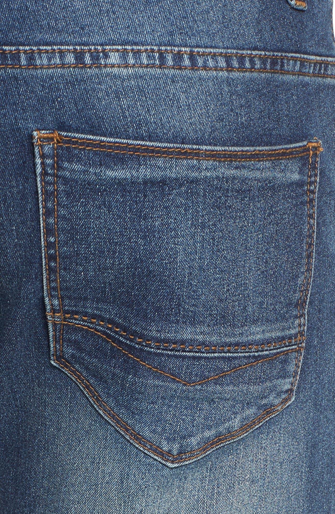 Maverick Stretch Slim Fit Jeans,                             Alternate thumbnail 5, color,                             MAVERICK WASH