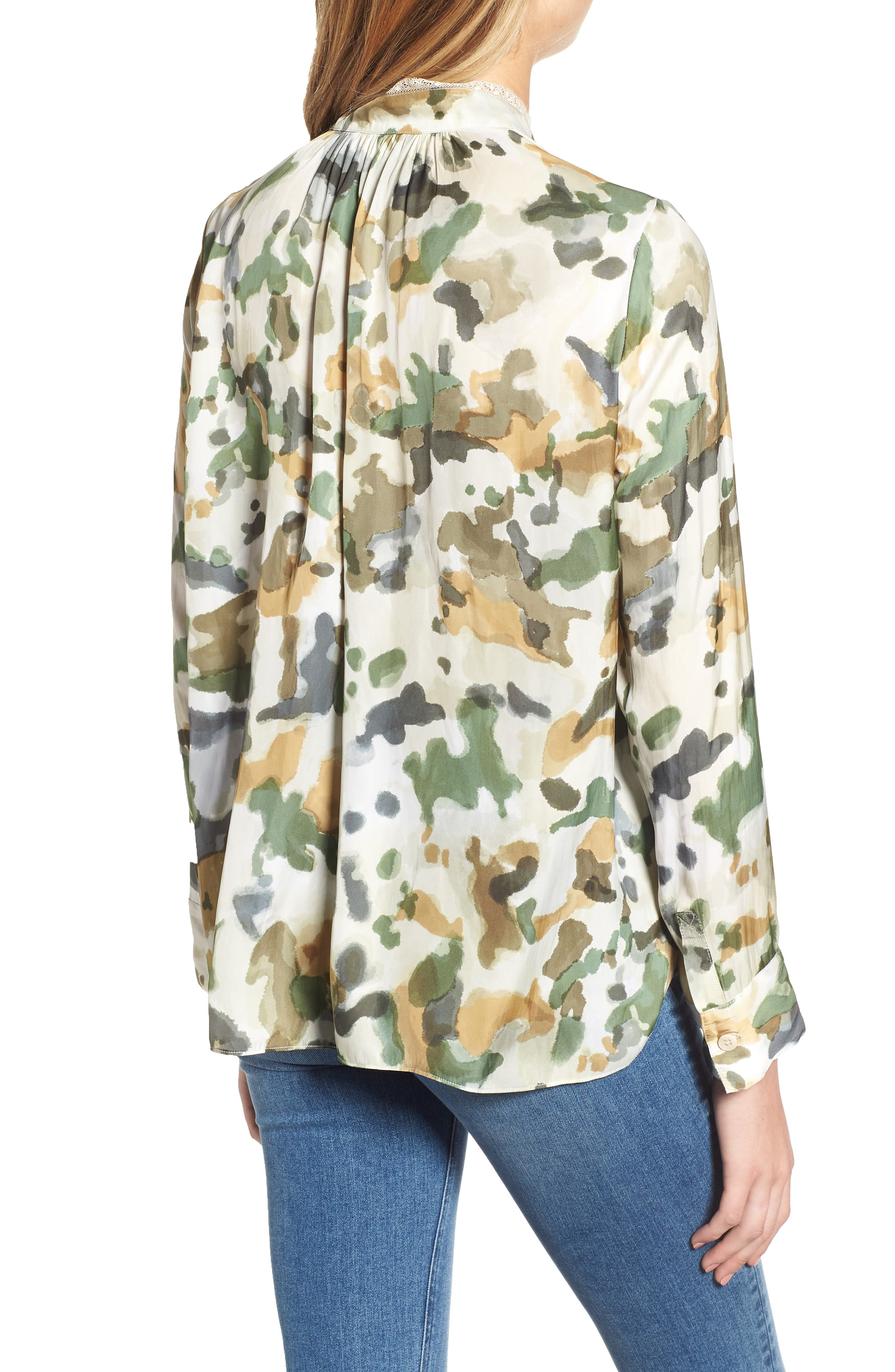 Tink Camouflage Top,                             Alternate thumbnail 2, color,                             BEIGE