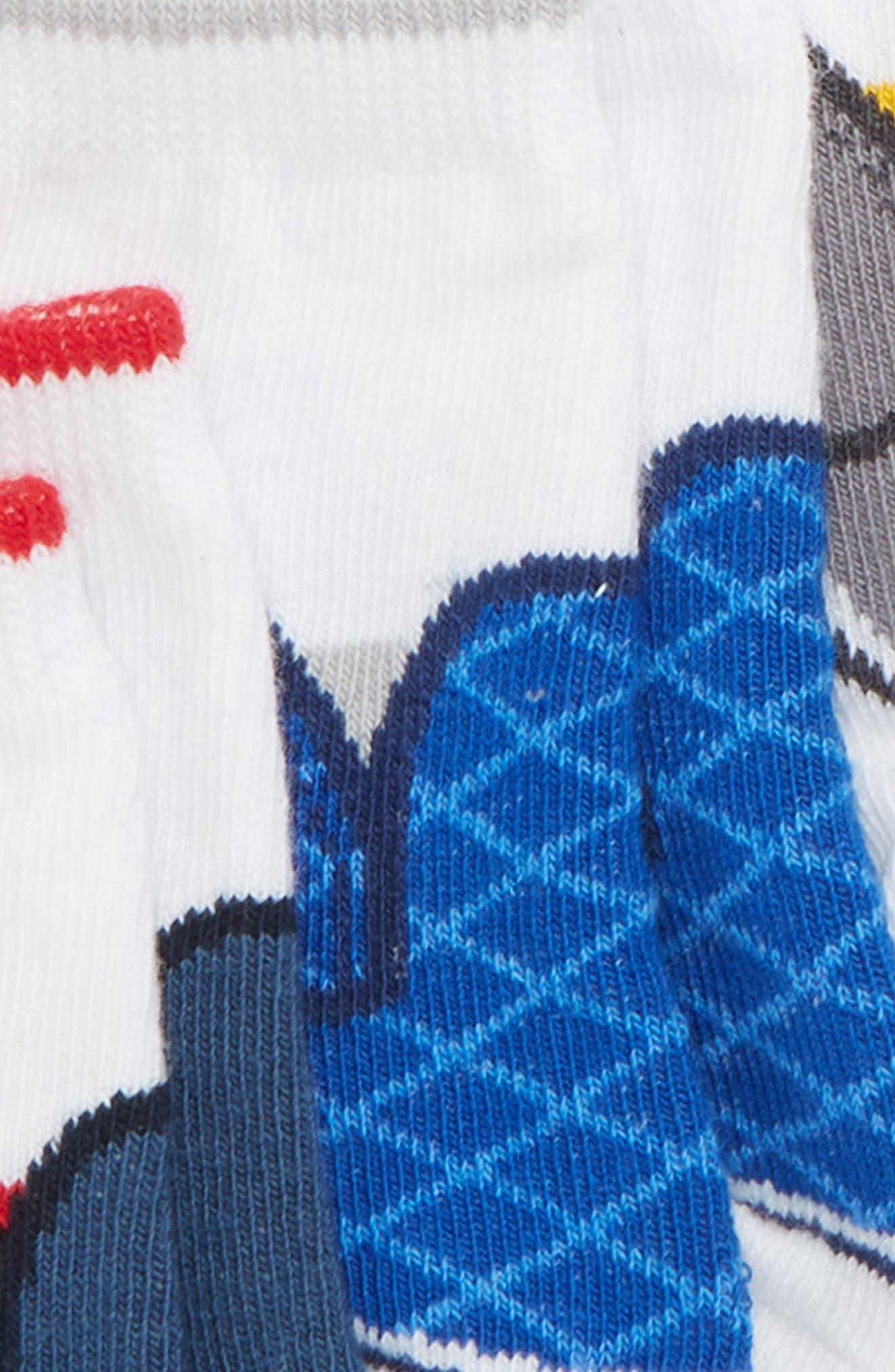 Preston 6-Pack Socks,                             Alternate thumbnail 3, color,                             ASSORTED NEUTRAL