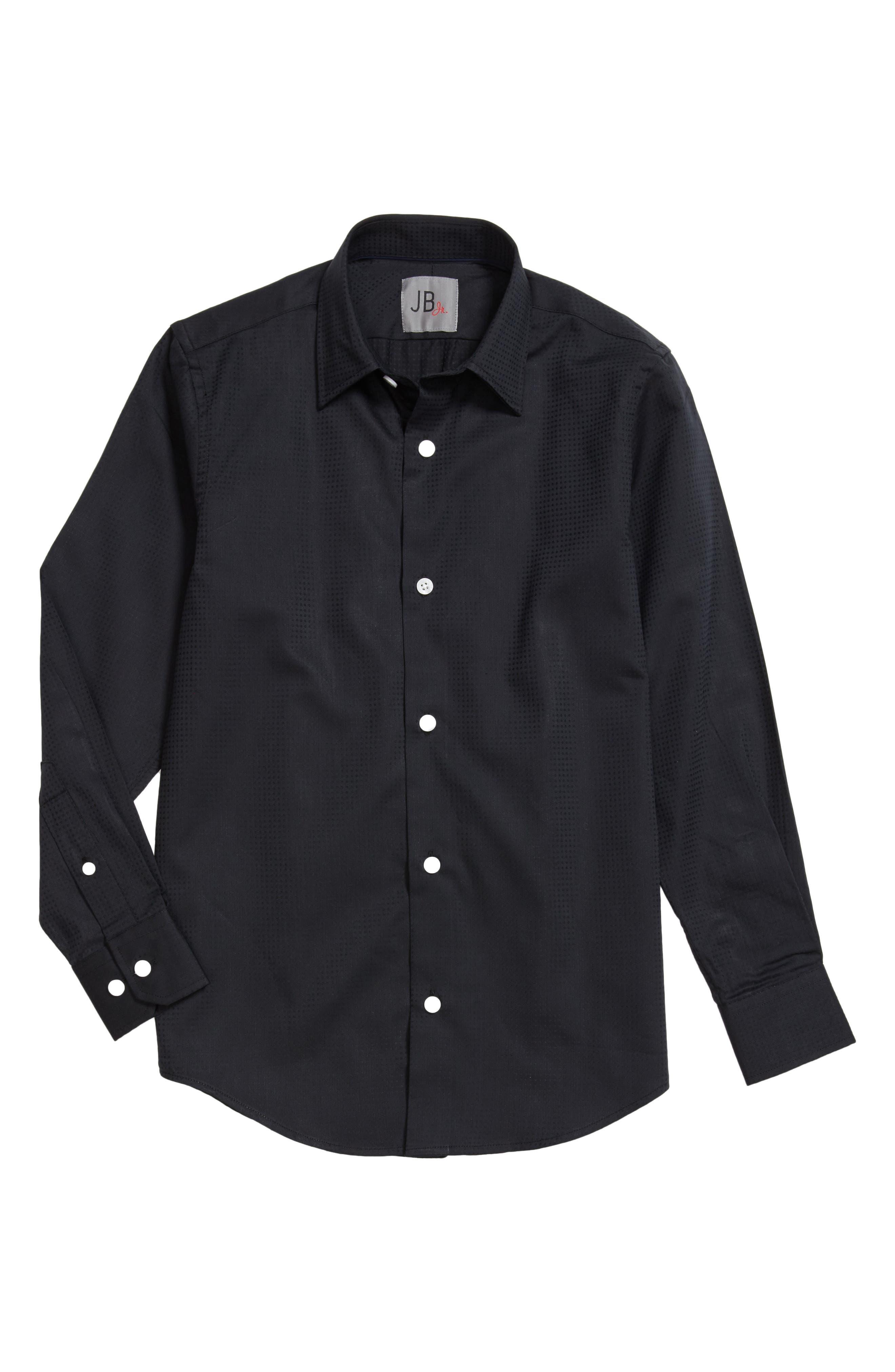 Check Dress Shirt,                         Main,                         color, 001