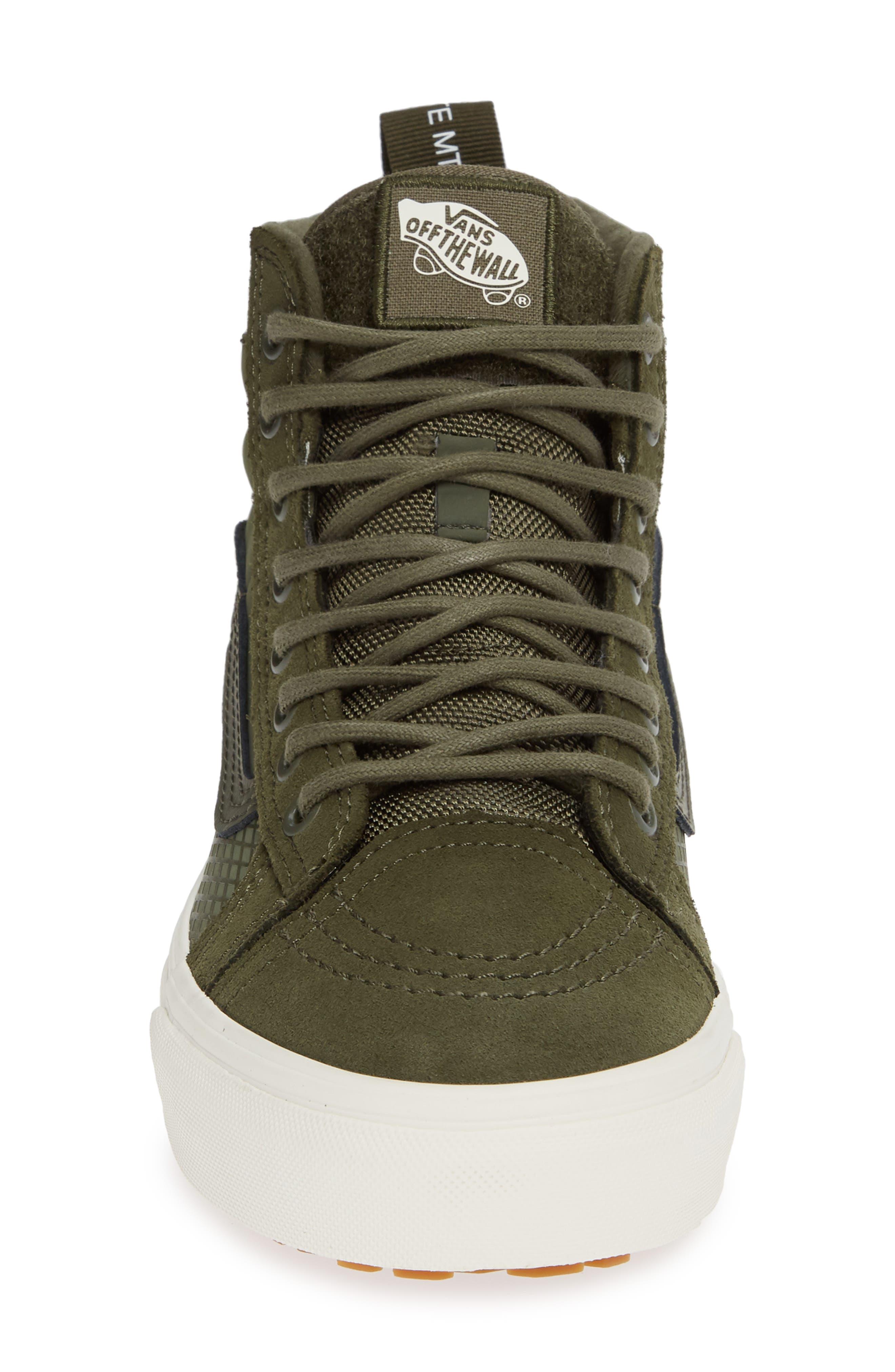 Sk8-Hi 46 MTE DX Sneaker,                             Alternate thumbnail 4, color,                             GRAPE LEAF