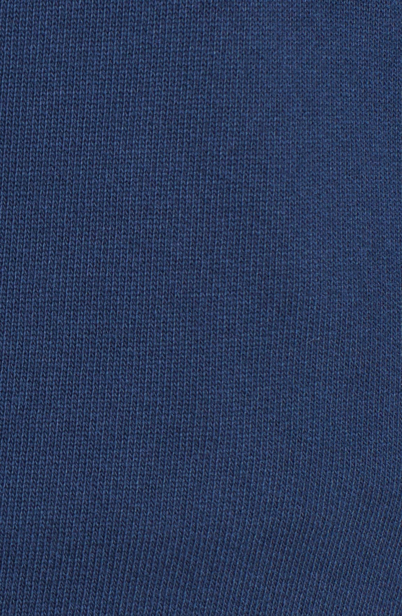 Raw Hem Crop Sweatpants,                             Alternate thumbnail 6, color,                             410