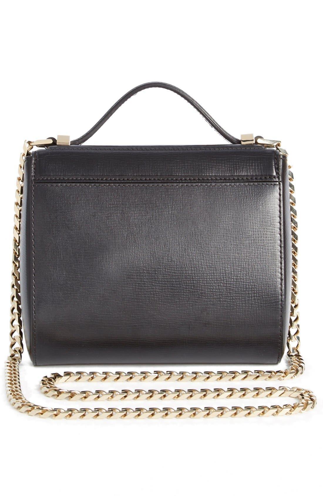 'Mini Pandora Box - Palma' Leather Shoulder Bag,                             Alternate thumbnail 2, color,                             001 BLACK