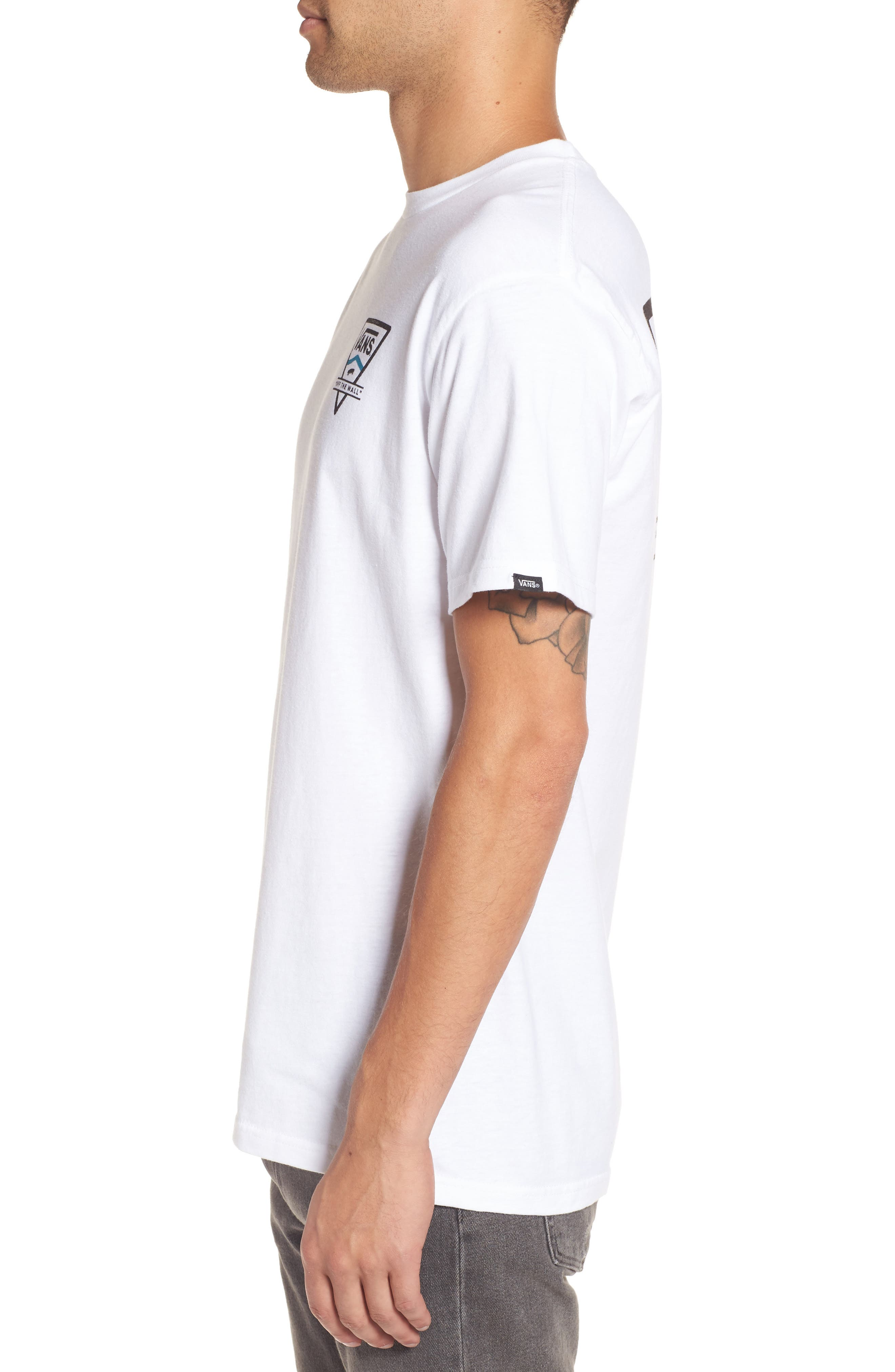 Classic T-Shirt,                             Alternate thumbnail 3, color,                             100