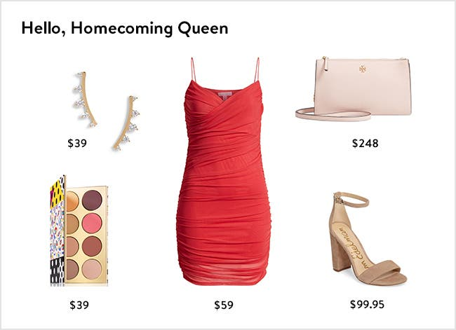 Hello, homecoming queen: women's clothing, shoes and accessories.