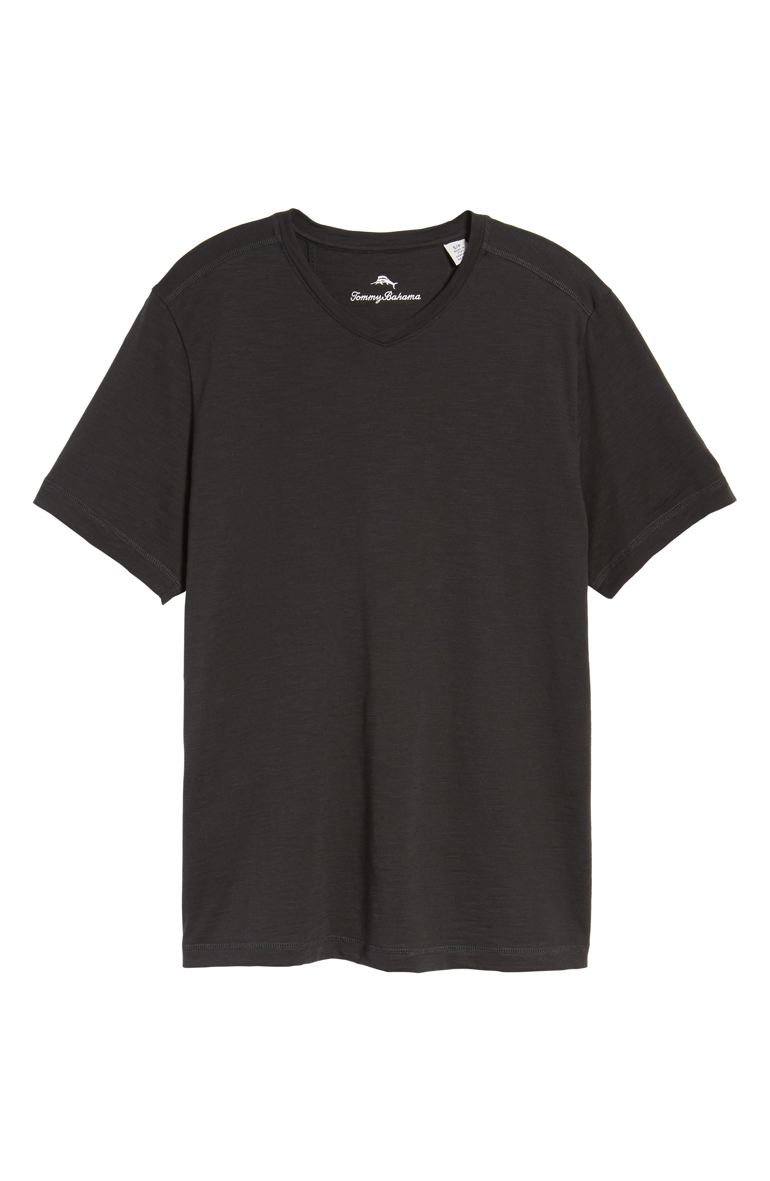Portside Palms V-Neck T-Shirt,                             Alternate thumbnail 46, color,