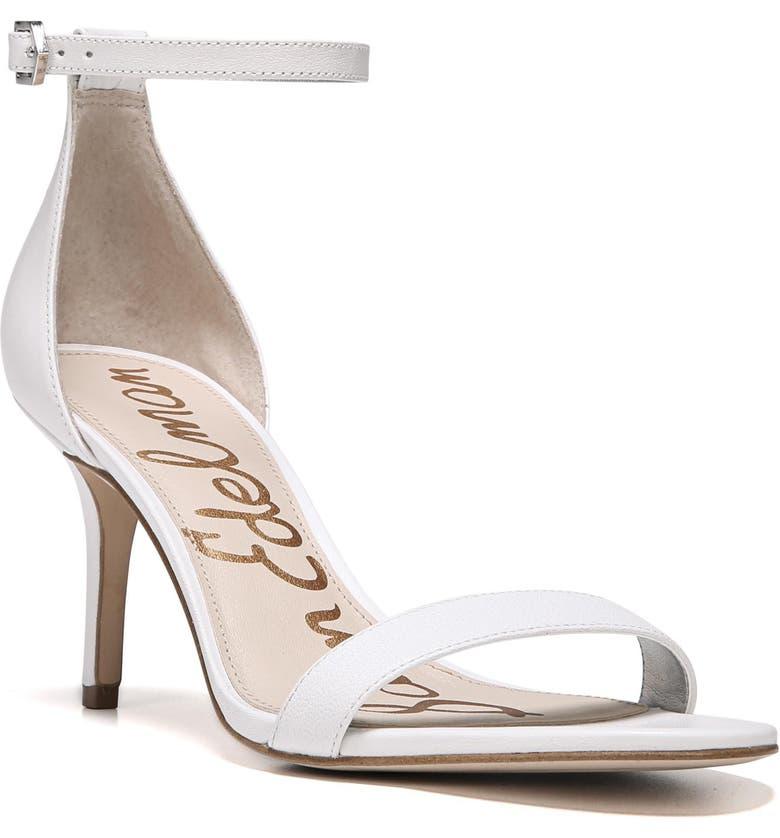 dfc48de0a Sam Edelman Women S Patti Open Toe Leather High-Heel Sandals In Jute Fabric