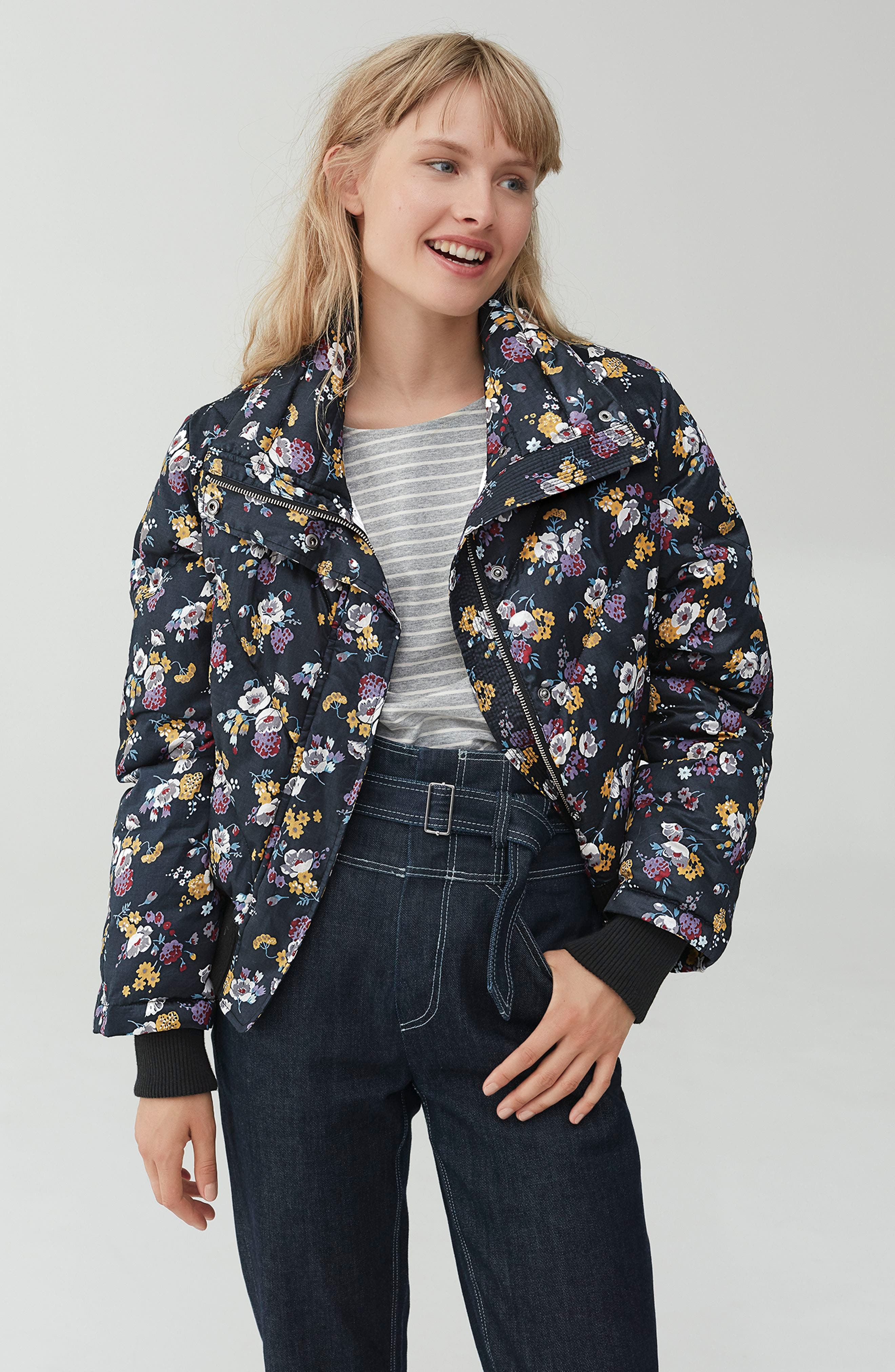 Winter Posey Jacket,                             Alternate thumbnail 7, color,                             014