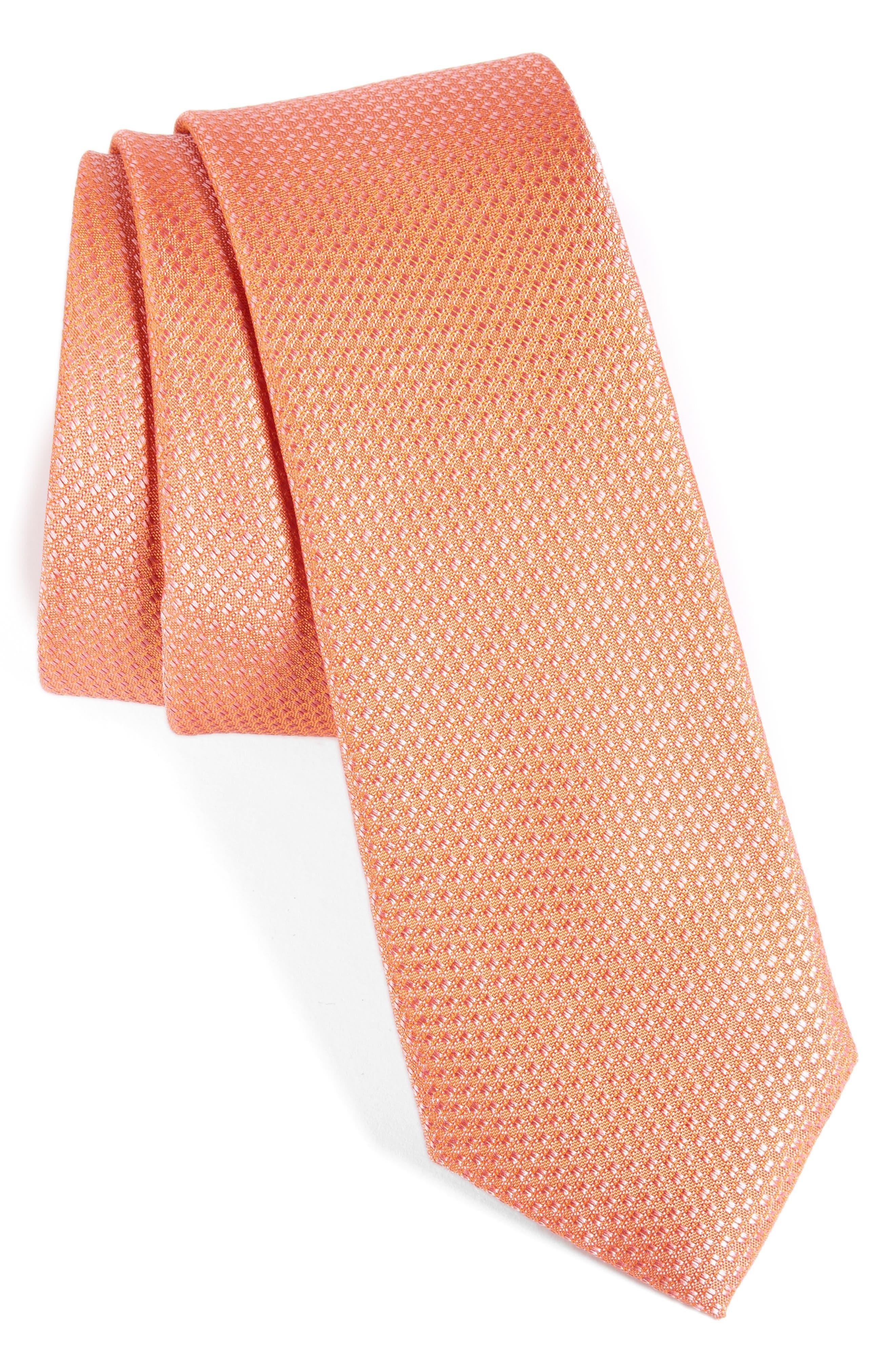 Seattle Textured Silk Tie,                             Main thumbnail 33, color,