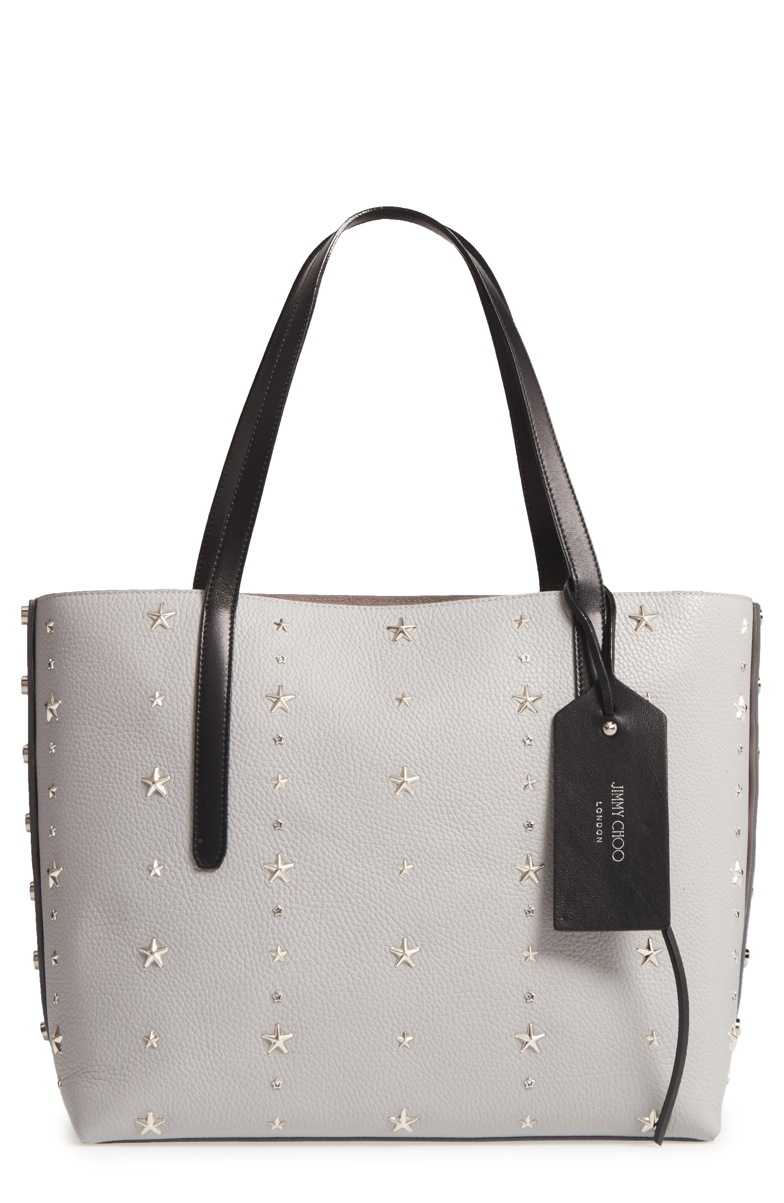 Twist East West Leather Tote,                             Main thumbnail 1, color,                             040