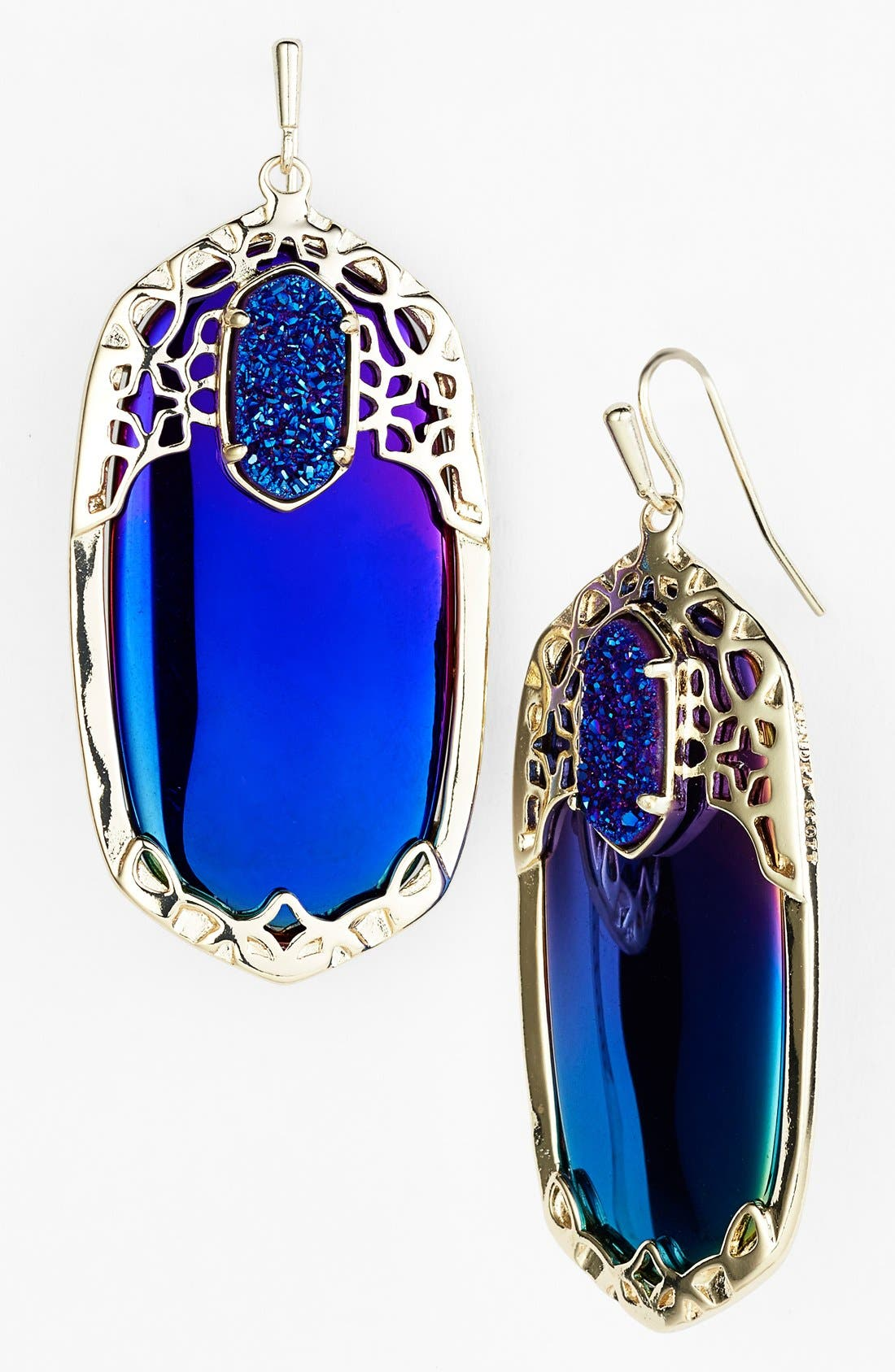 'Glam Rocks - Deva' Drop Earrings,                             Main thumbnail 1, color,                             005