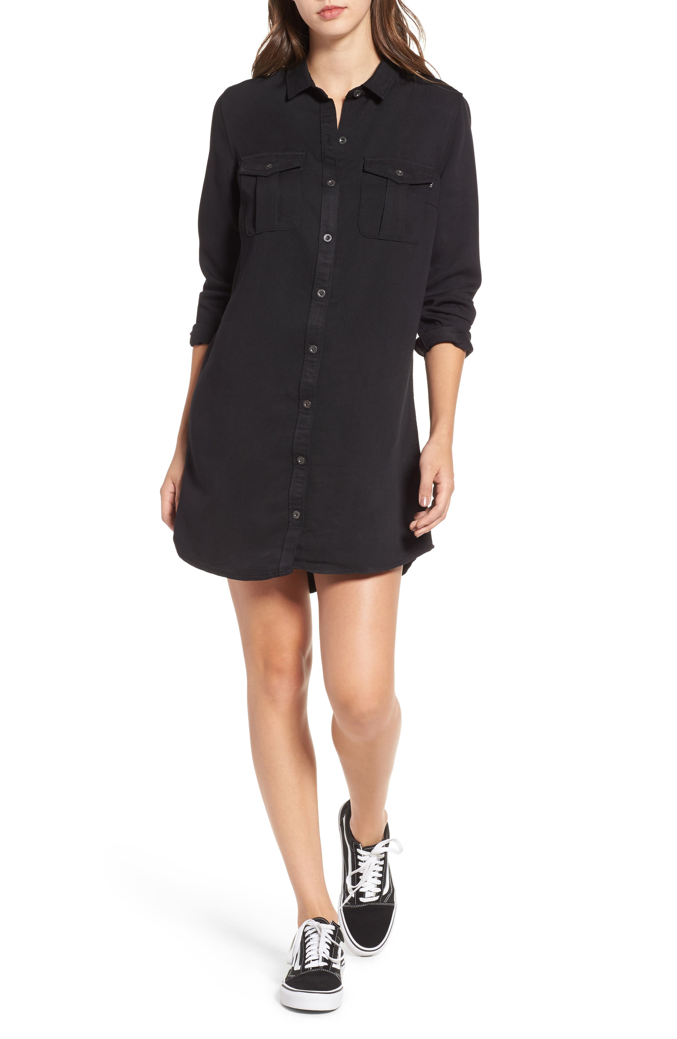 Jett Shirtdress,                         Main,                         color, 001