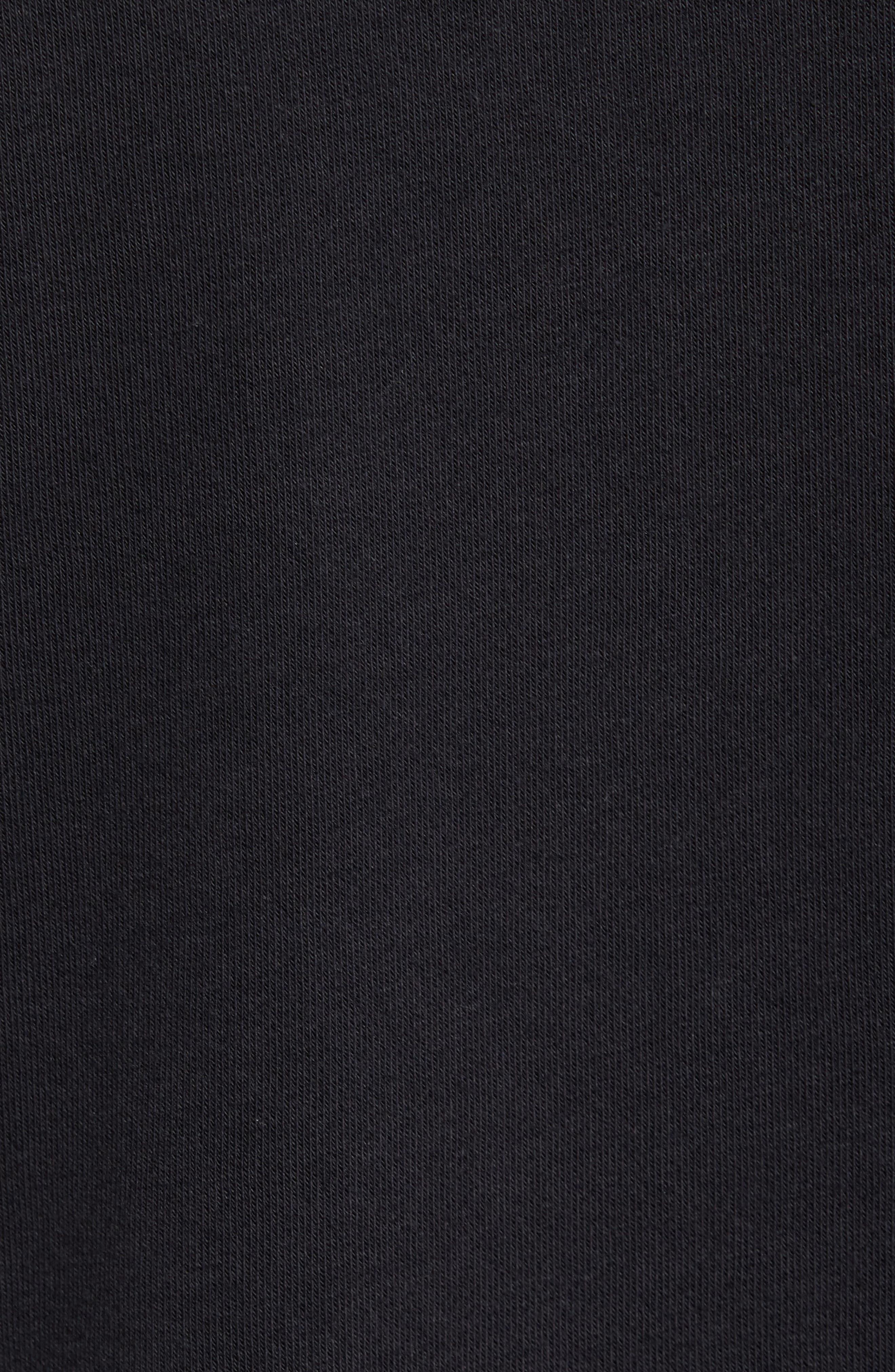 NSW AF1 Hoodie,                             Alternate thumbnail 6, color,                             BLACK/ ANTHRACITE
