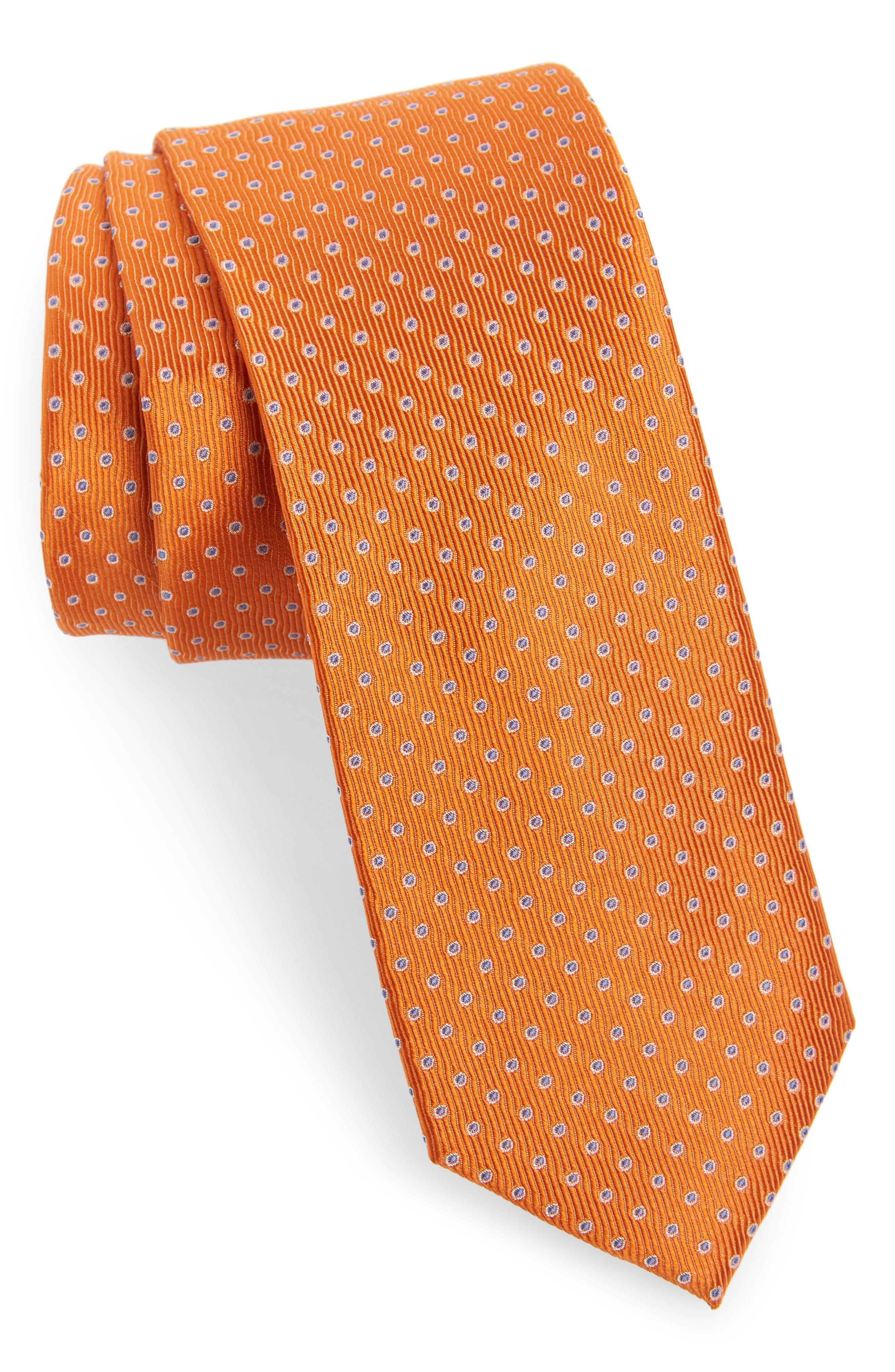 Newport Dot Silk Tie,                             Main thumbnail 9, color,