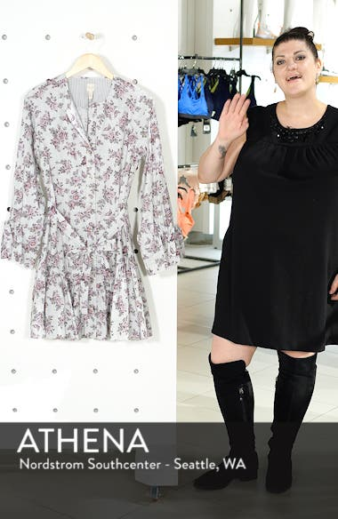 Veronique Ruffle Sleeve Dress, sales video thumbnail