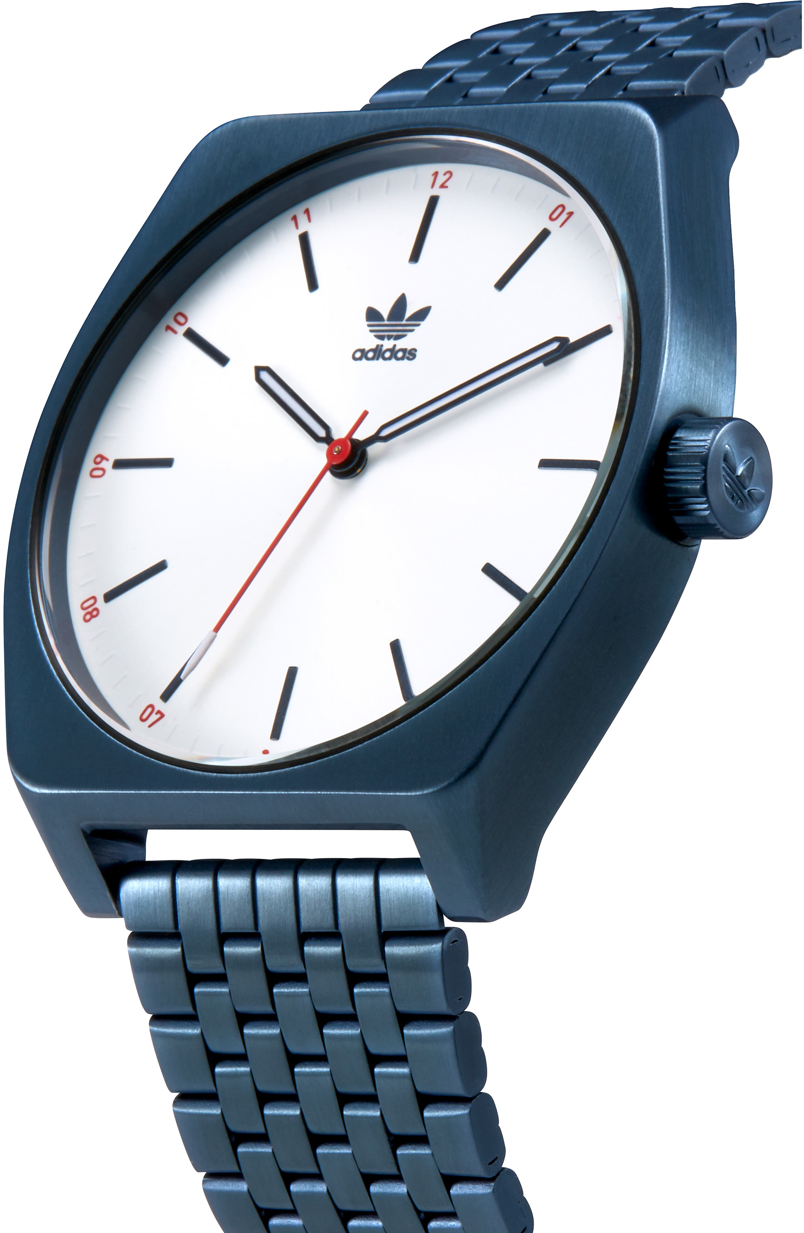 Process Bracelet Watch, 38mm,                             Alternate thumbnail 4, color,                             NAVY