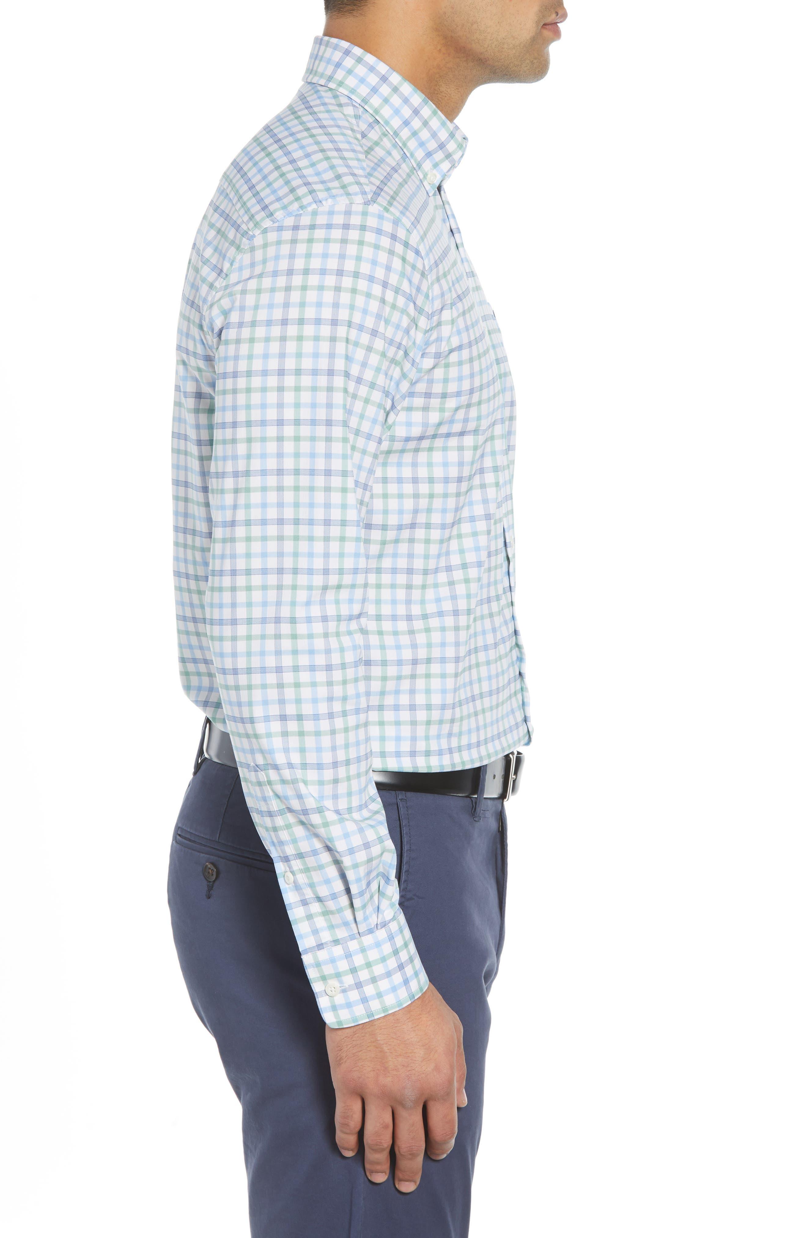 Gaffton Classic Fit Sport Shirt,                             Alternate thumbnail 4, color,                             ELM