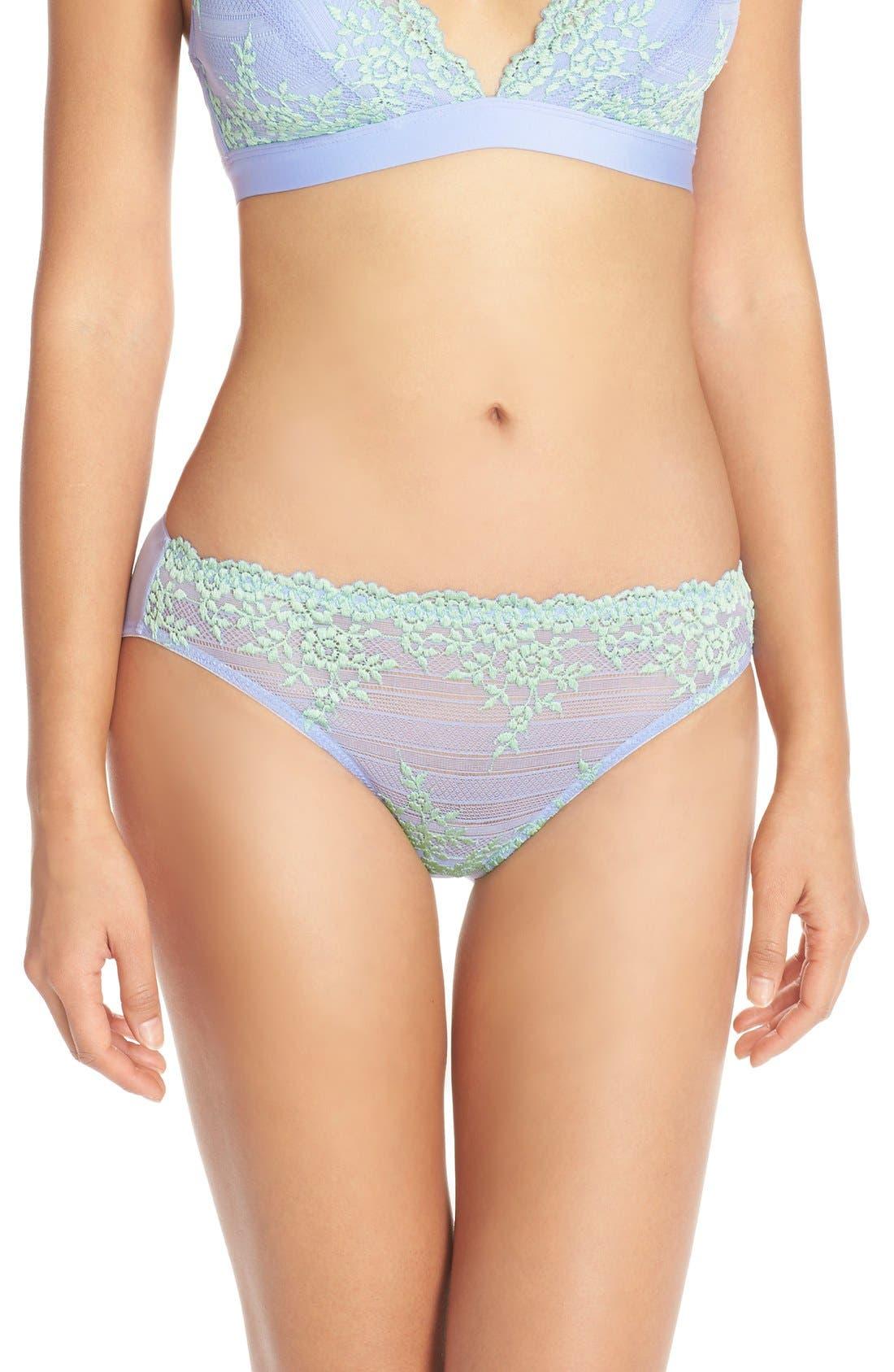 'Embrace' Lace Bikini,                             Main thumbnail 1, color,                             501