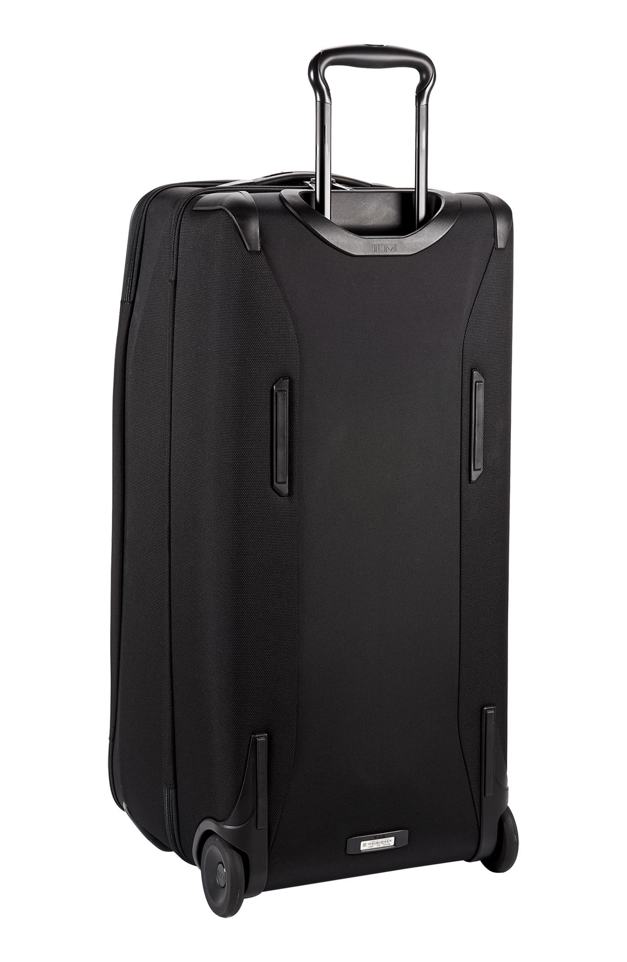 TUMI,                             Merge - 31-Inch Rolling Duffel Bag,                             Alternate thumbnail 5, color,                             BLACK CONTRAST
