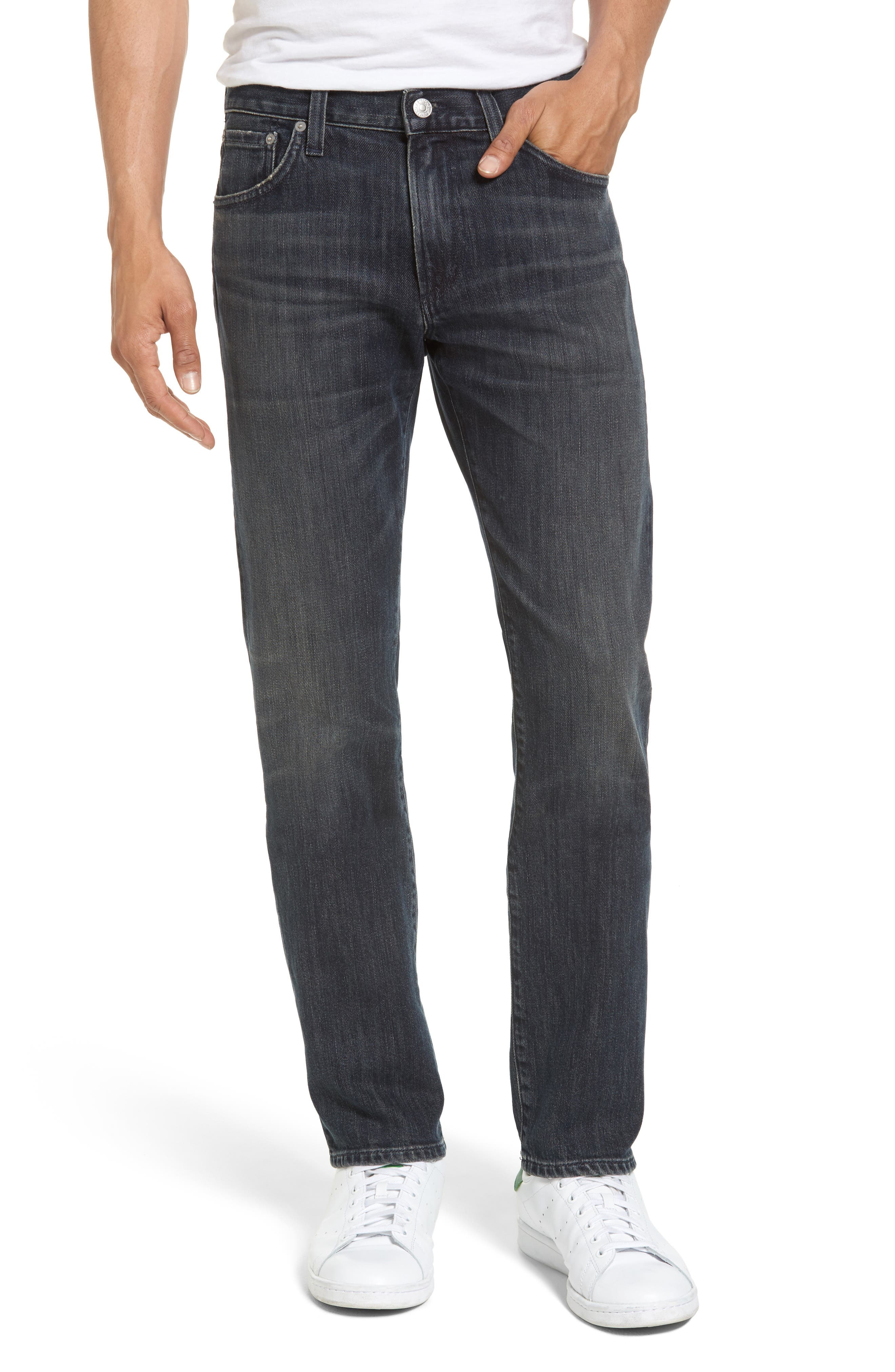 Gage Slim Straight Leg Jeans,                         Main,                         color, 464