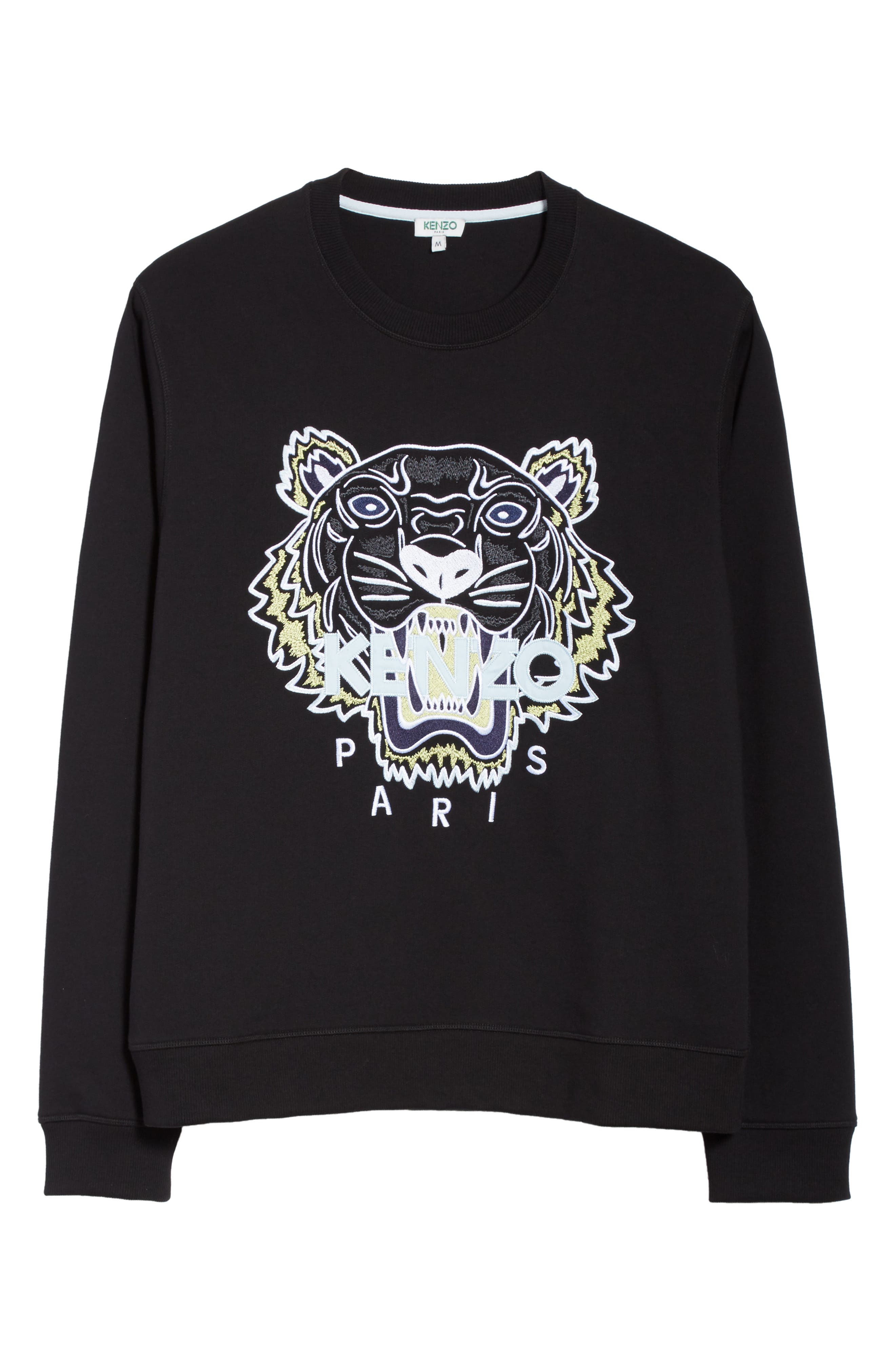 Embroidered Graphic Sweatshirt,                             Alternate thumbnail 6, color,                             001
