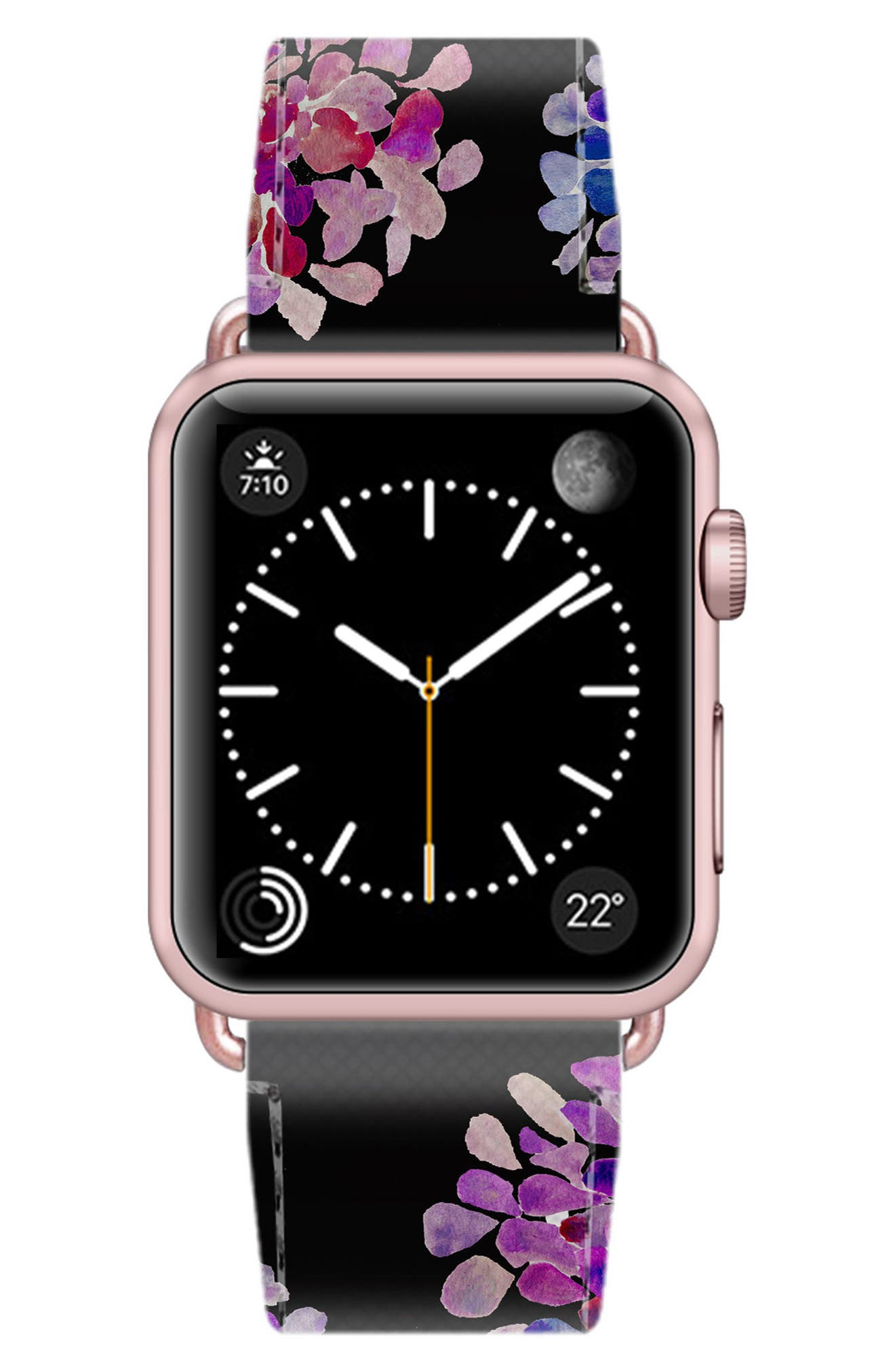 Saffiano Faux Leather Apple Watch Strap,                             Alternate thumbnail 34, color,