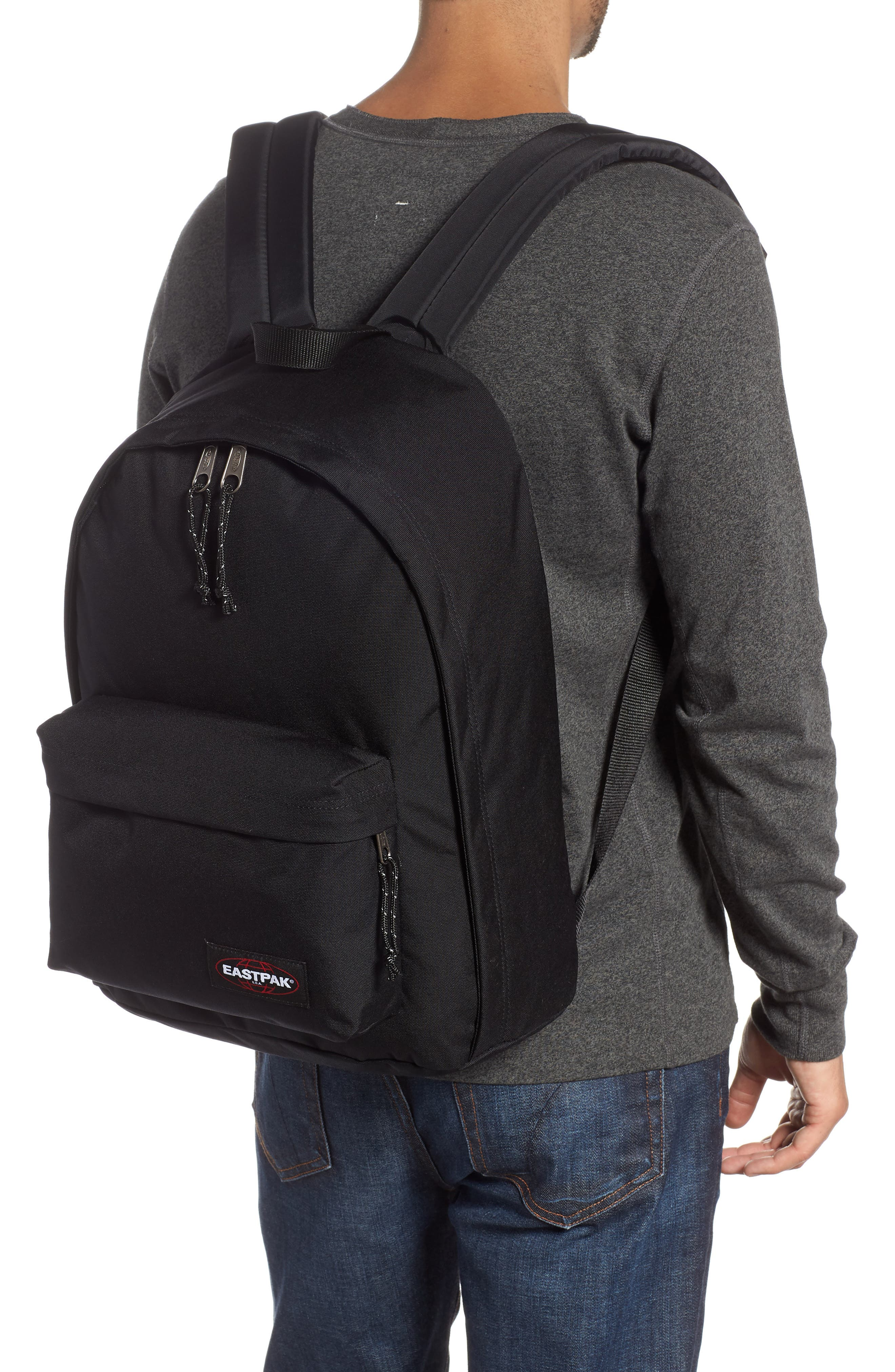 Out Of Office Backpack,                             Alternate thumbnail 2, color,                             BLACK