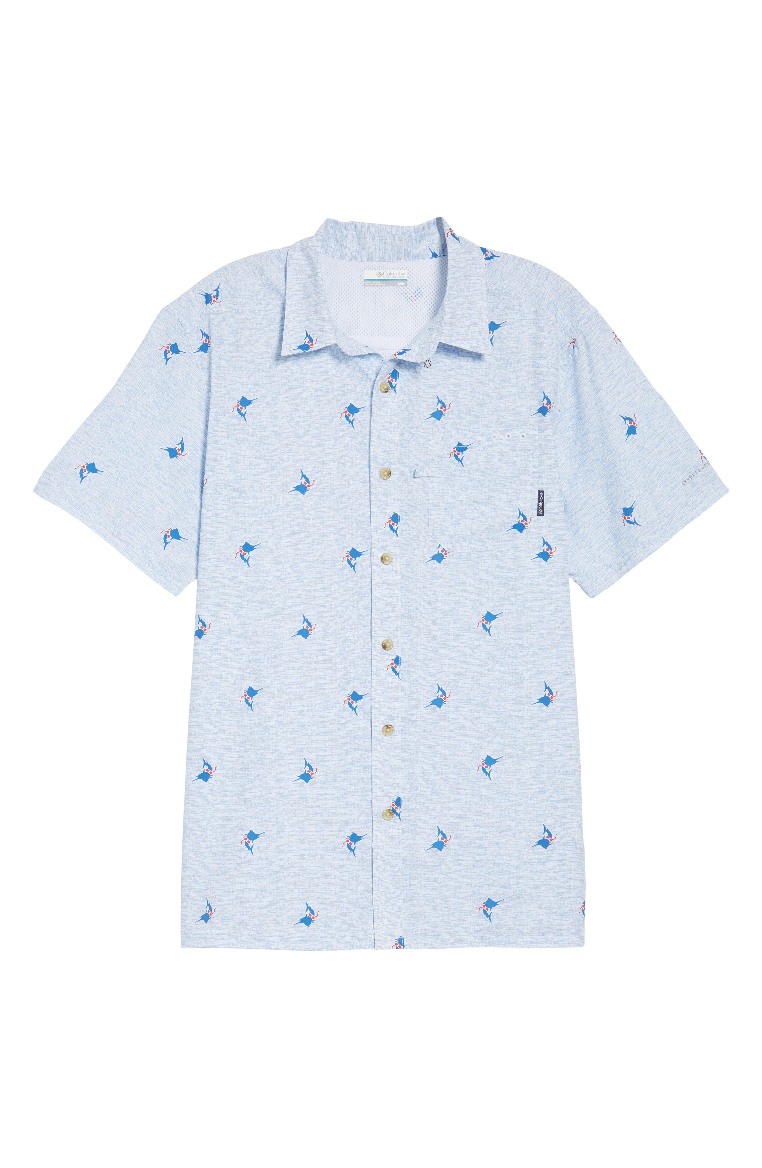 Super Slack Tide Patterned Woven Shirt,                             Alternate thumbnail 29, color,