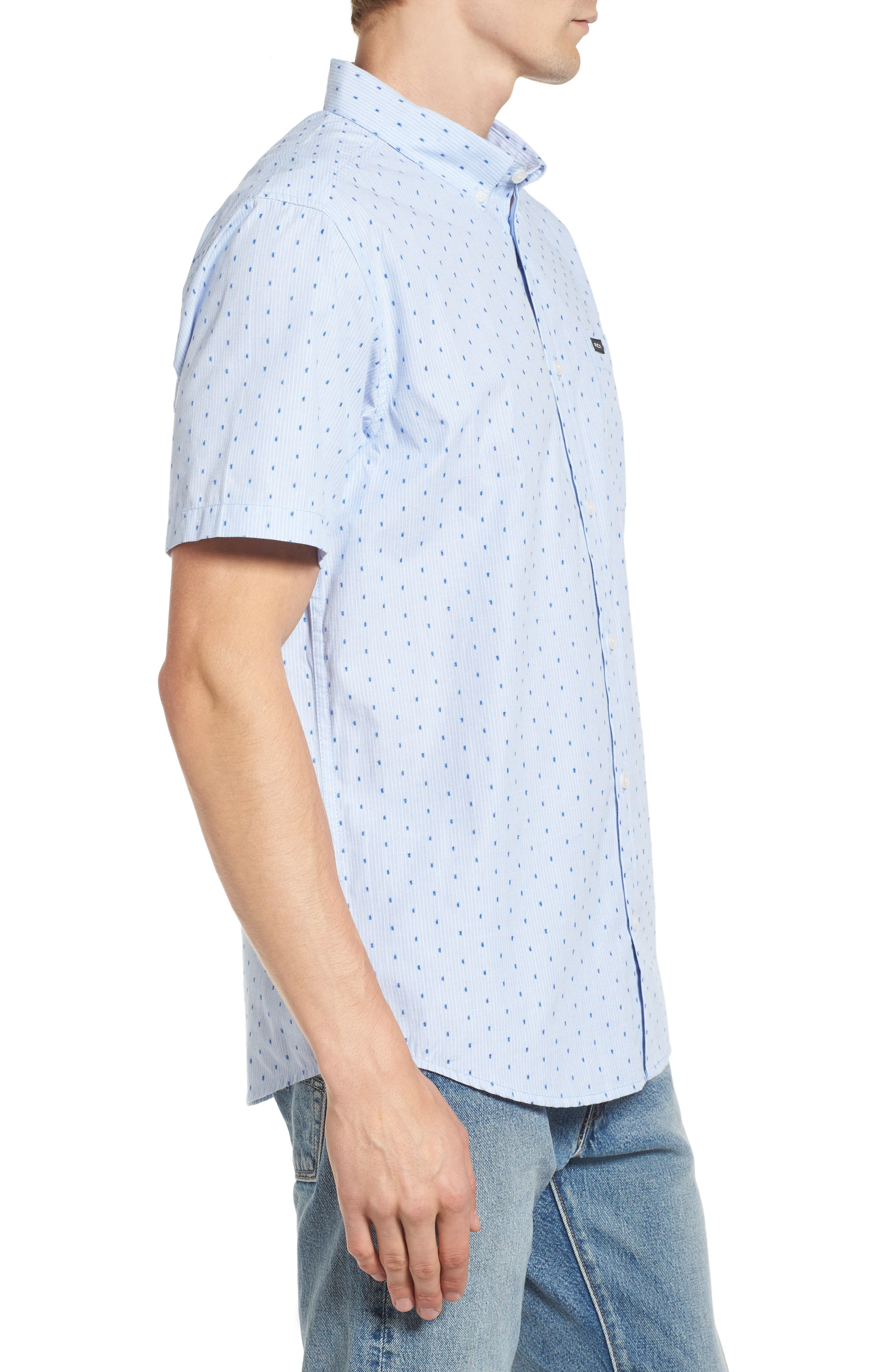 Return Dobby Woven Shirt,                             Alternate thumbnail 8, color,