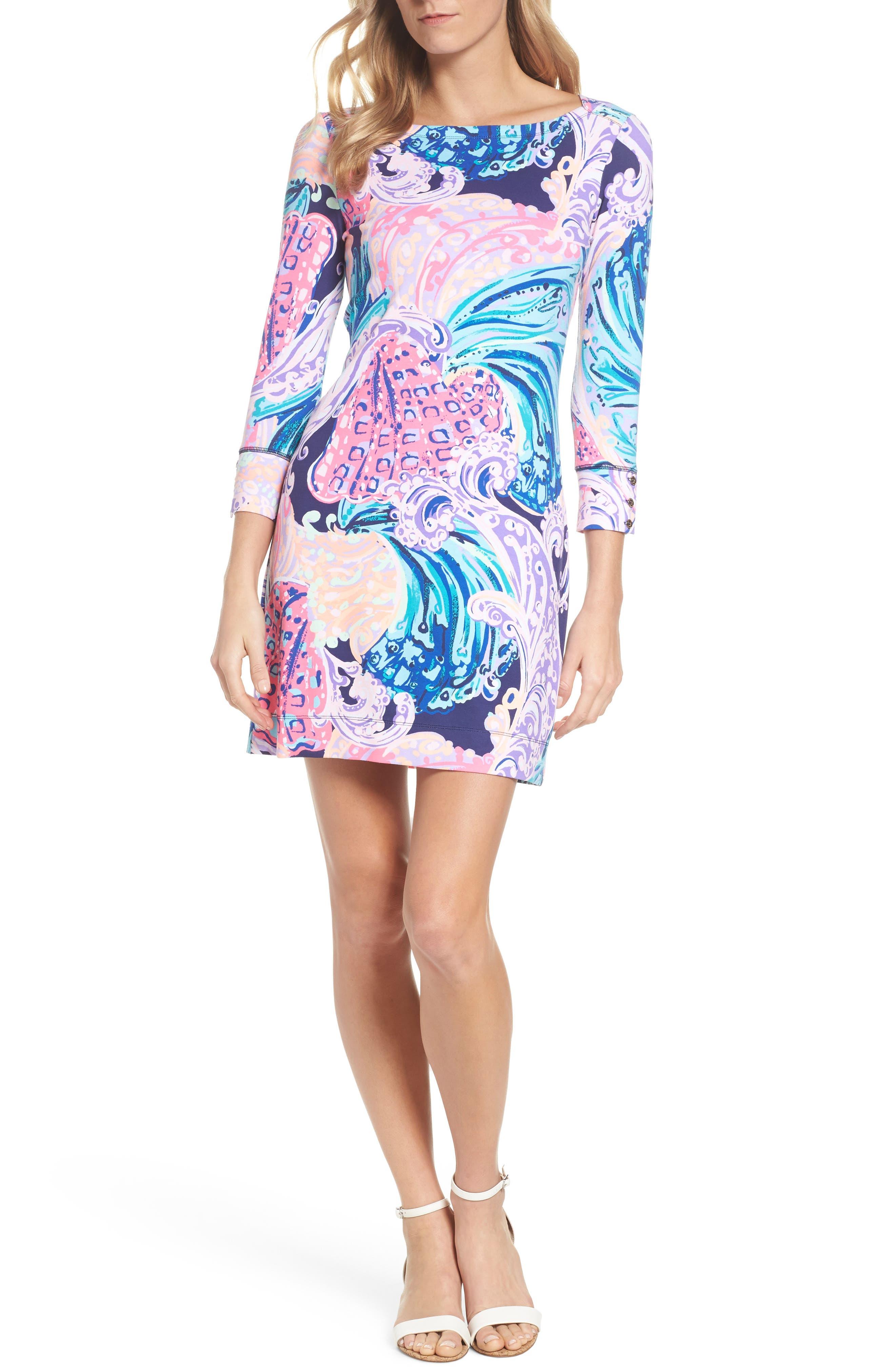 Sophie UPF 50+ Dress,                             Alternate thumbnail 5, color,                             599