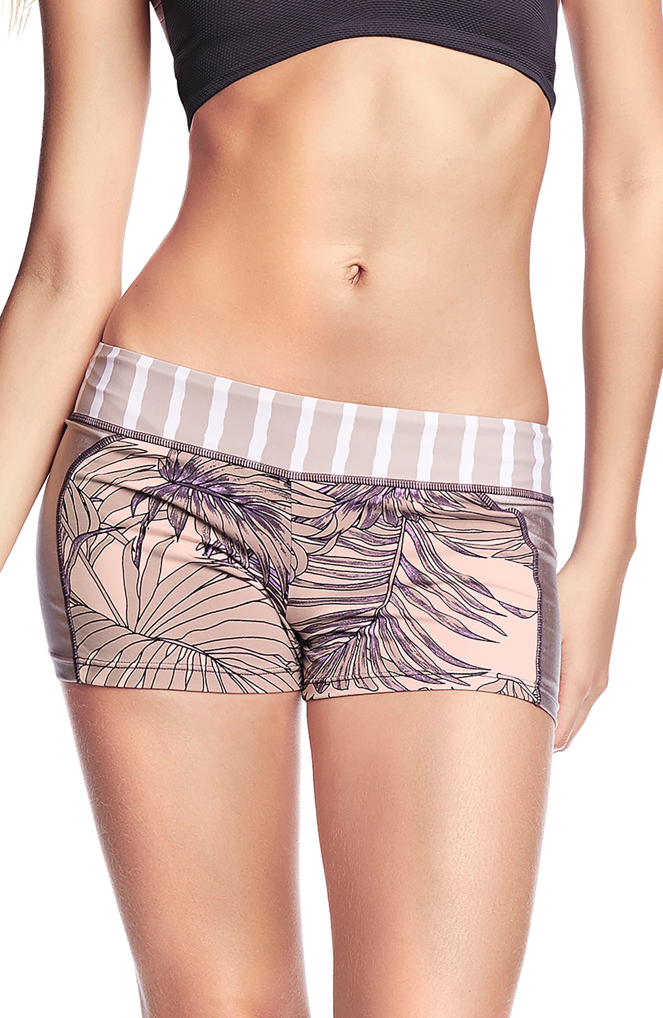 Maaji Samba De Verao Swim Shorts, Purple