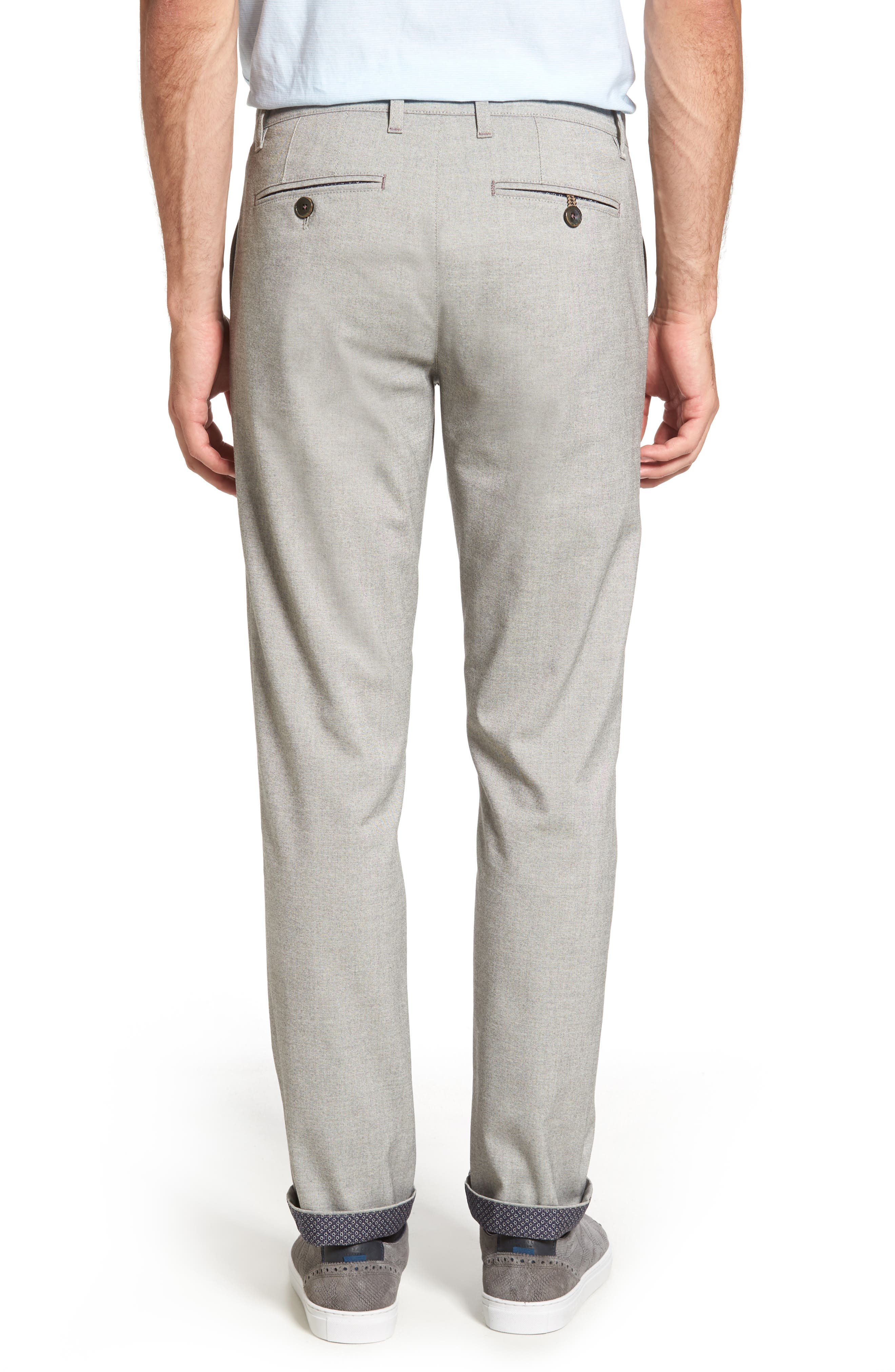 TED BAKER LONDON,                             Volvek Classic Fit Trousers,                             Alternate thumbnail 2, color,                             030