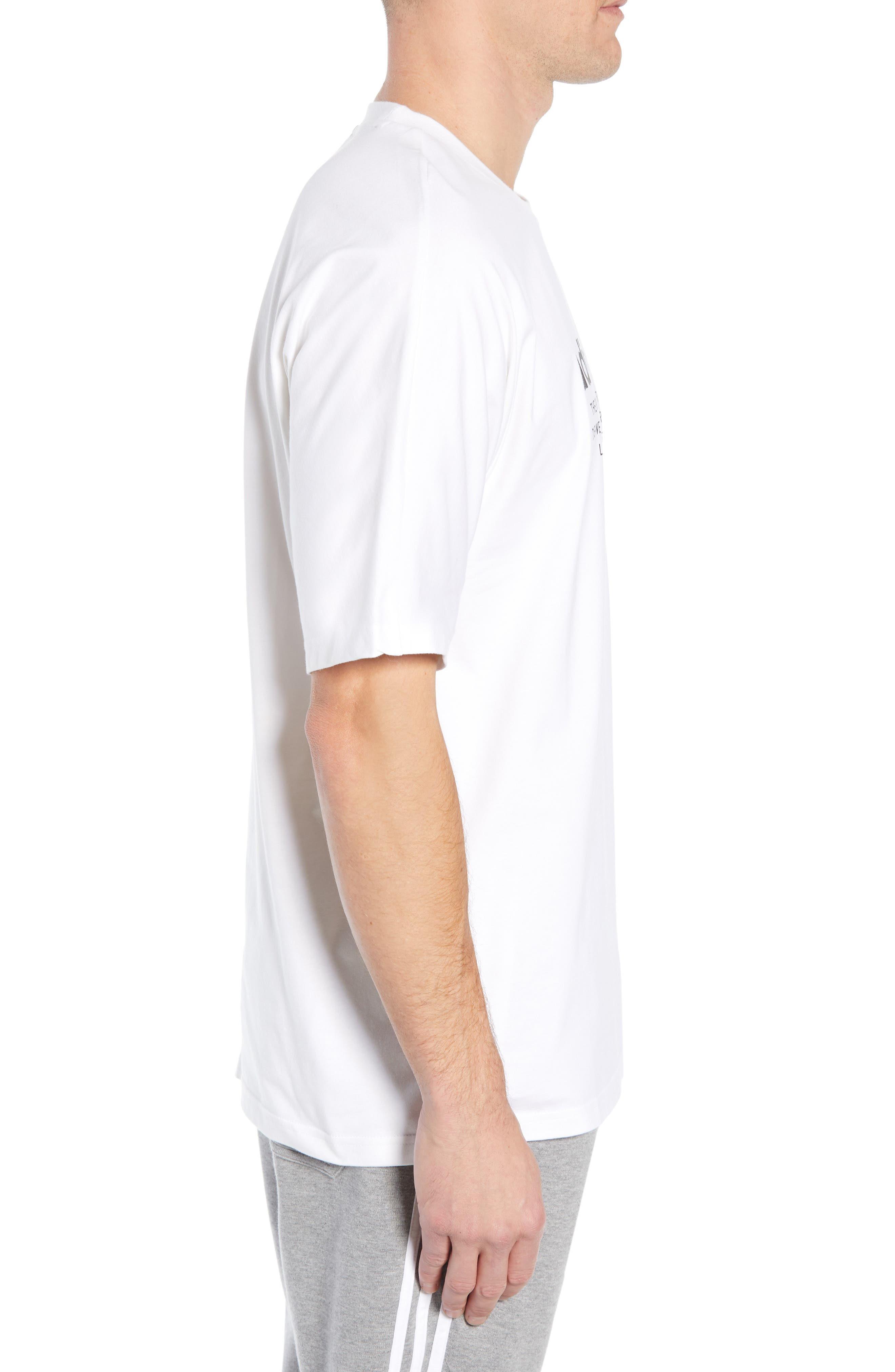 NMD Graphic T-Shirt,                             Alternate thumbnail 3, color,                             WHITE