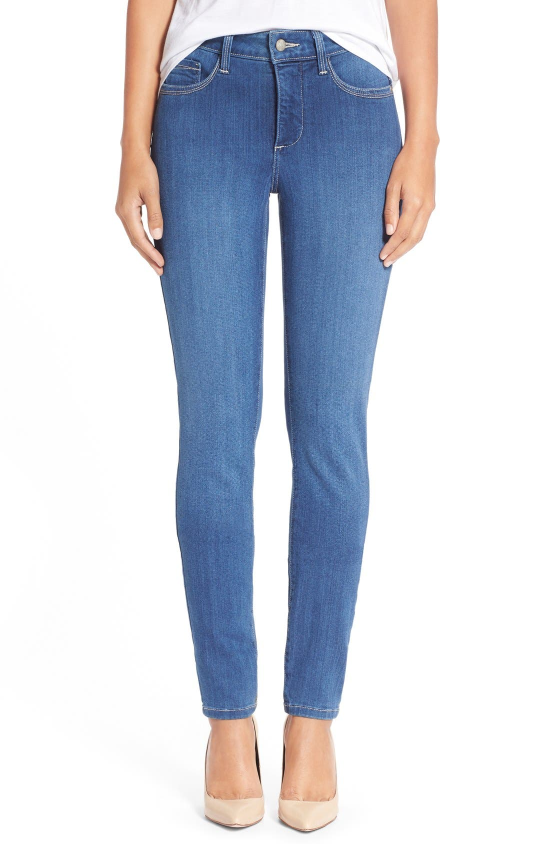 'Ami' Stretch Skinny Jeans,                             Main thumbnail 2, color,